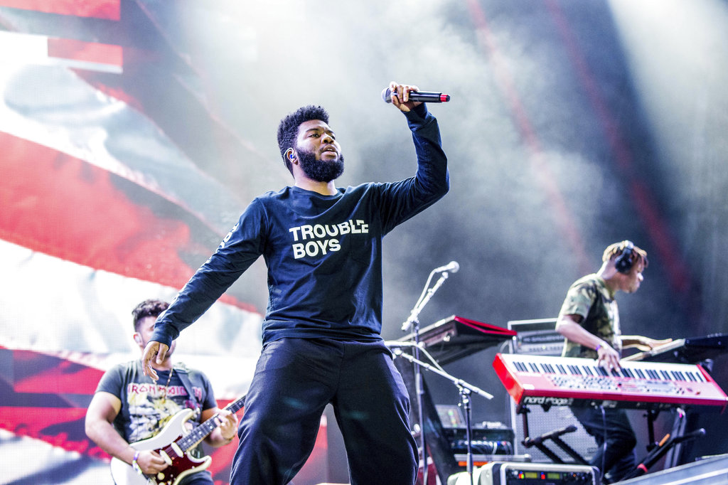 Khalid performs at the Okeechobee Music and Arts Festival on Friday, March 2, 2018, in Okeechobee, Fla. (Photo by Amy Harris/Invision/AP)