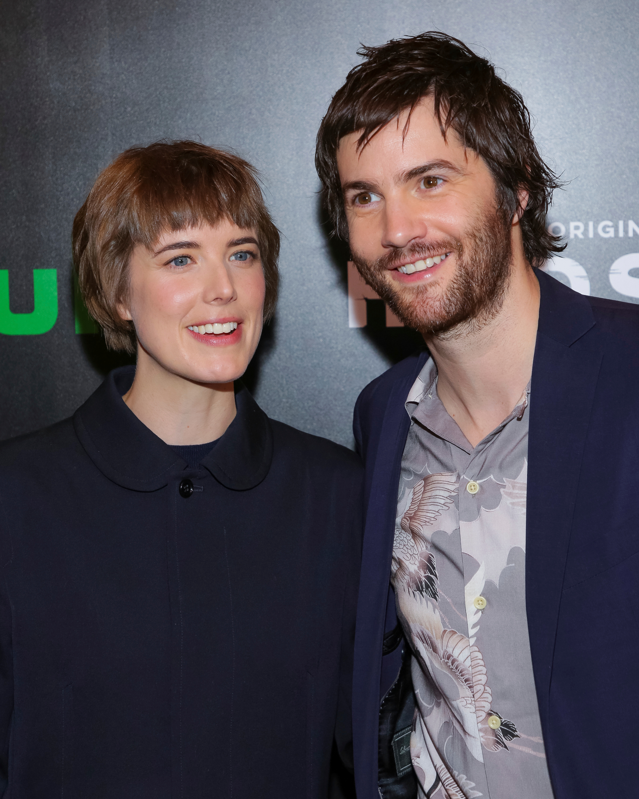 "Model/actress Agyness Deyn, left, and actor Jim Sturgess attend the Hulu original series premiere of ""Hard Sun"" at Regal Union Square on Wednesday, Feb. 28, 2018, in New York. (Photo by Brent N. Clarke/Invision/AP)"