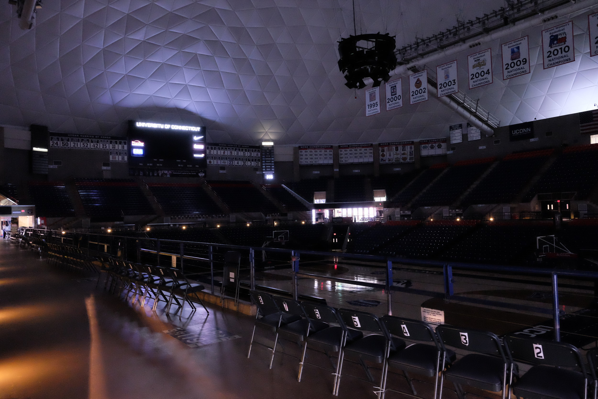 And when the dust settles, and the scores are recorded, Gampel returns to its quiet interior; waiting for the next event.