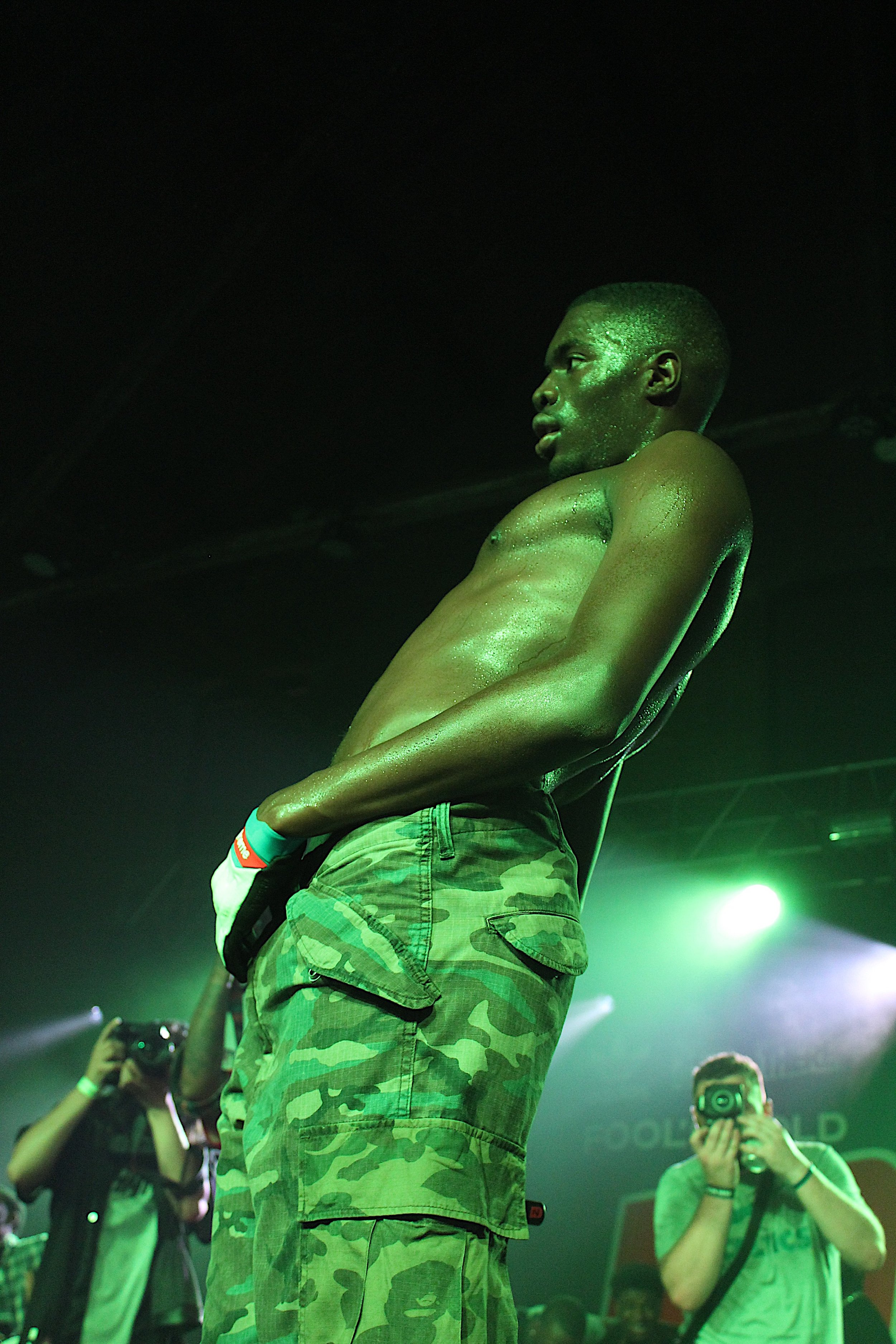Sheck Wes (Lucie Turkel/The Daily Campus)