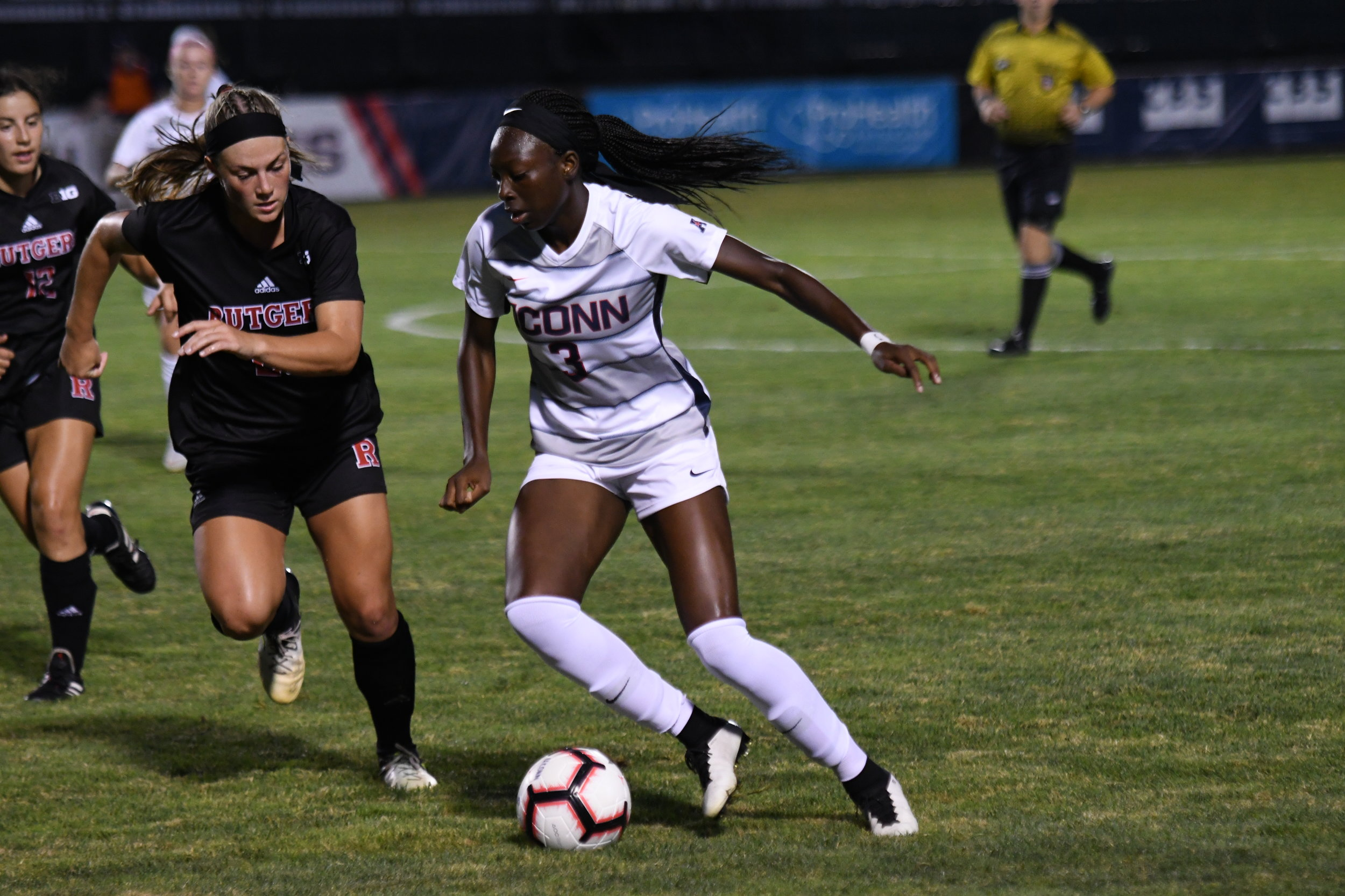 With a loss to Boston University, the UConn women's soccer team has dropped three straight games. (Nick Hampton/The Daily Campus)