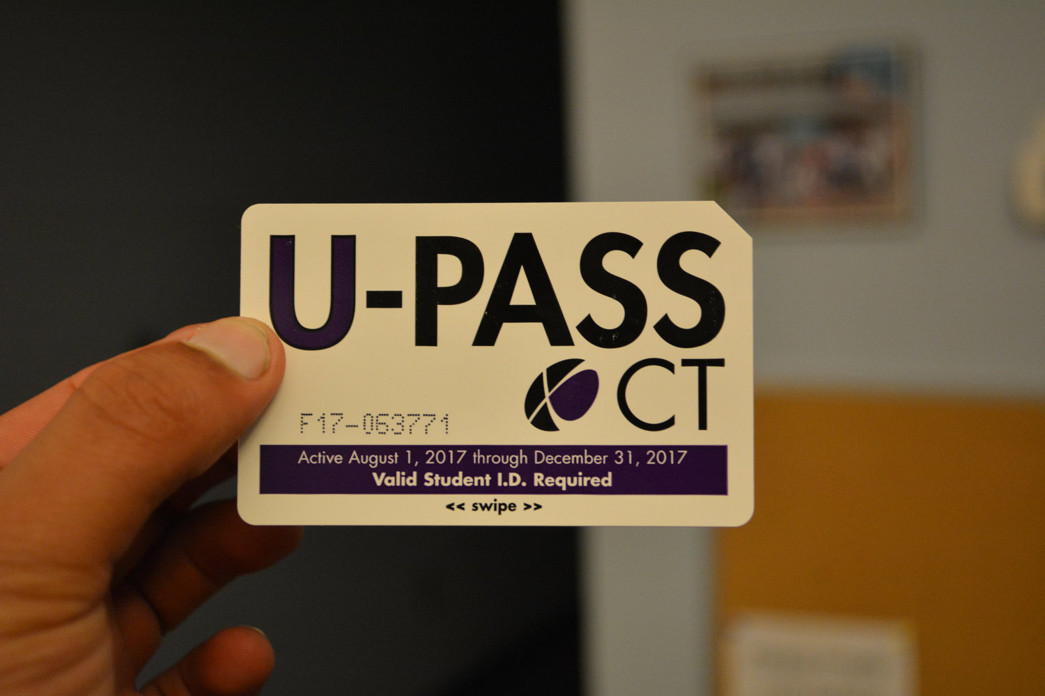 The UPass allows UConn students, faculty and staff to ride the new CTtransit bus service route that connects riders via public transportation from the UConn Storrs campus to Hartford. (File photo/The Daily Campus)