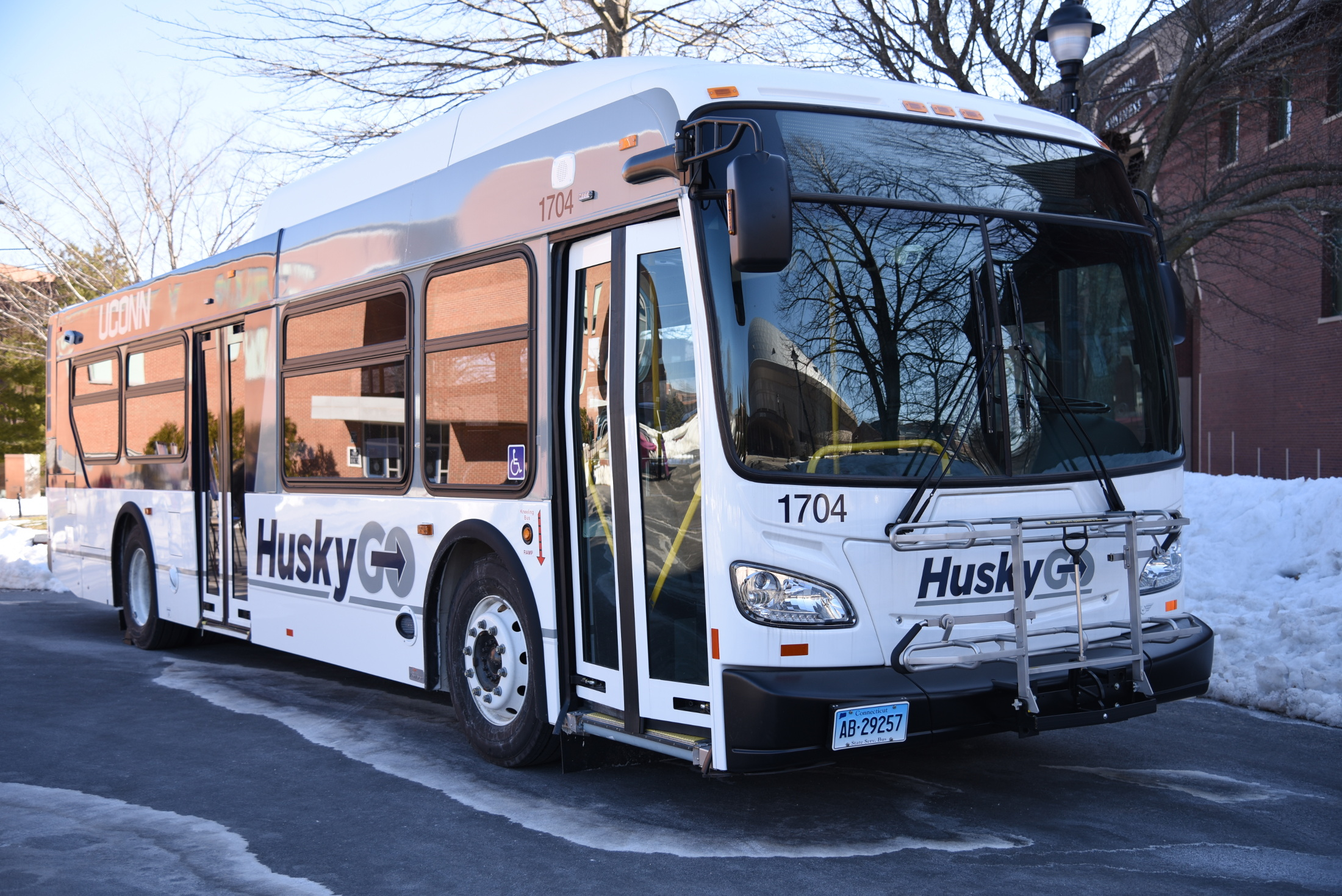 After some early uproar, the UConn bus lines are changing mid-semester (Charlotte Lao/The Daily Campus)