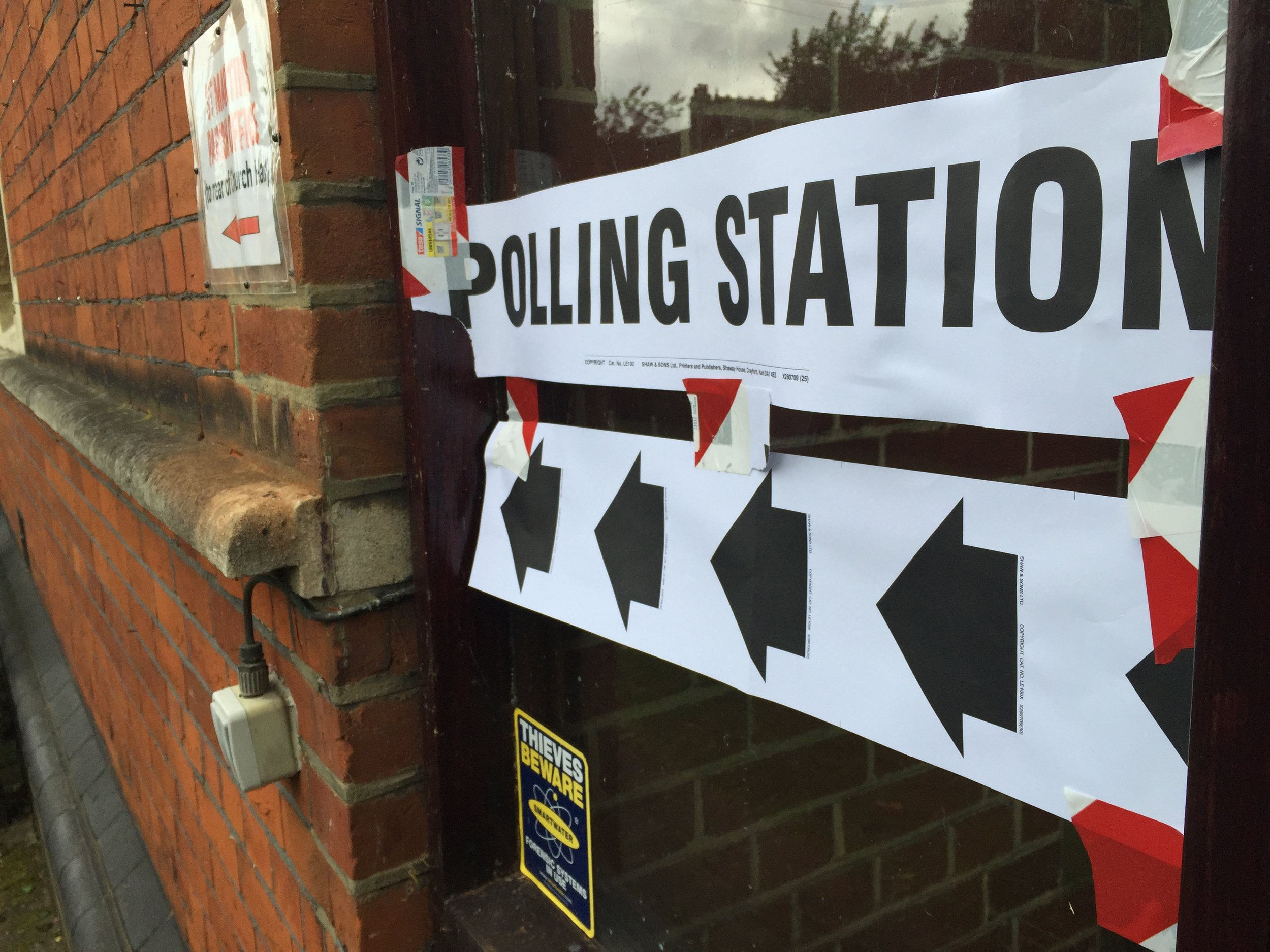 The United States is no stranger to using voter suppression in it's politics. (RachelH_/Flickr, Creative Commons)
