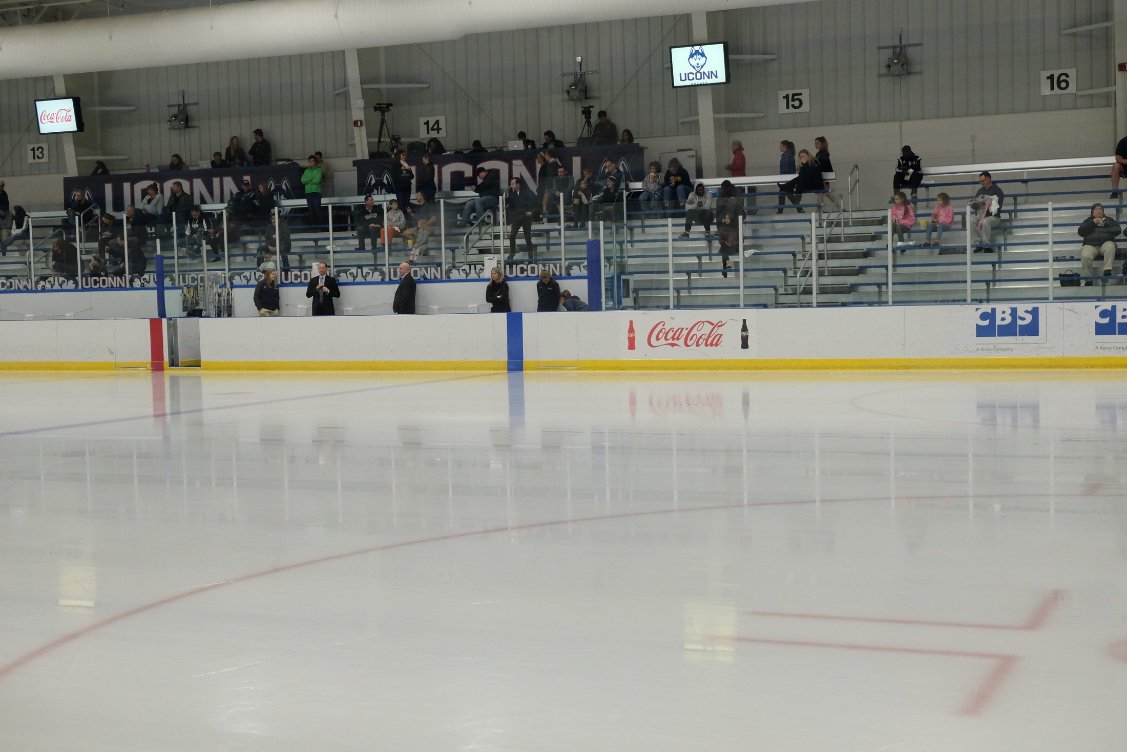 Freitas Ice Forum, the current on rink on campus, was insufficient based on Hockey East standards (File Photo/The Daily Campus)