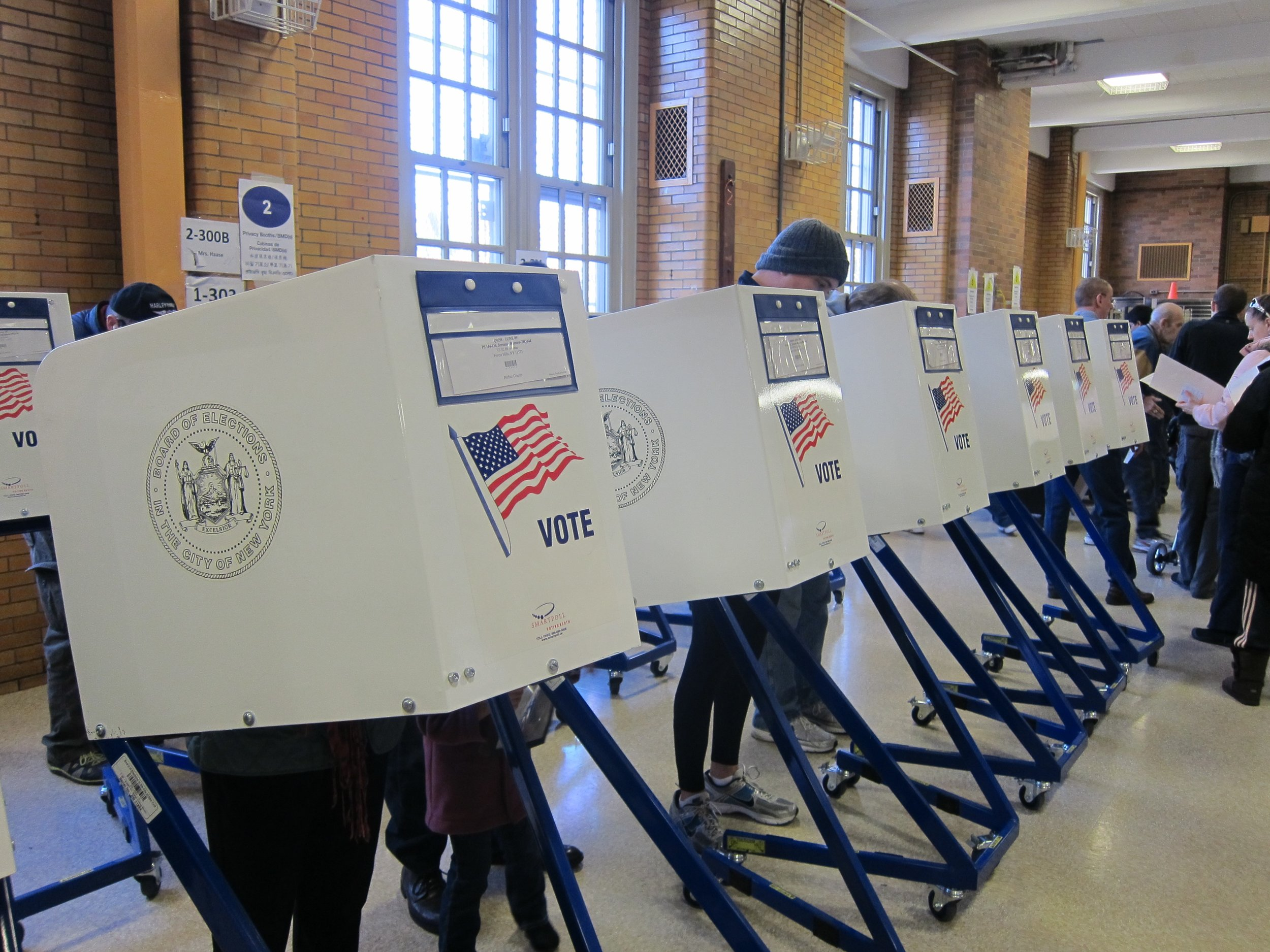 Have you voted yet? (Joe Shlabotnik, Flickr, Creative Commons )