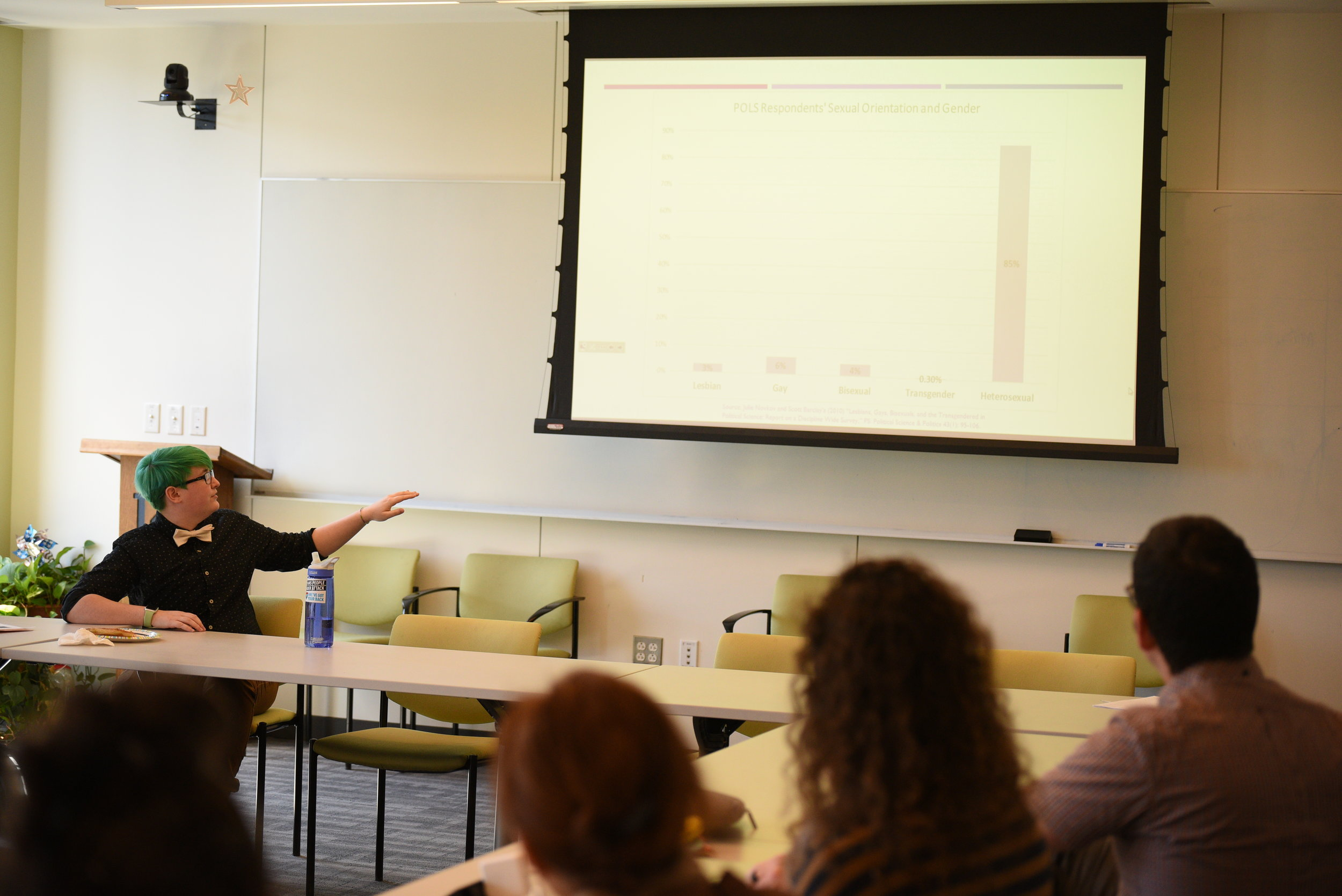 Class in Oak Hall. File photo/The Daily Campus