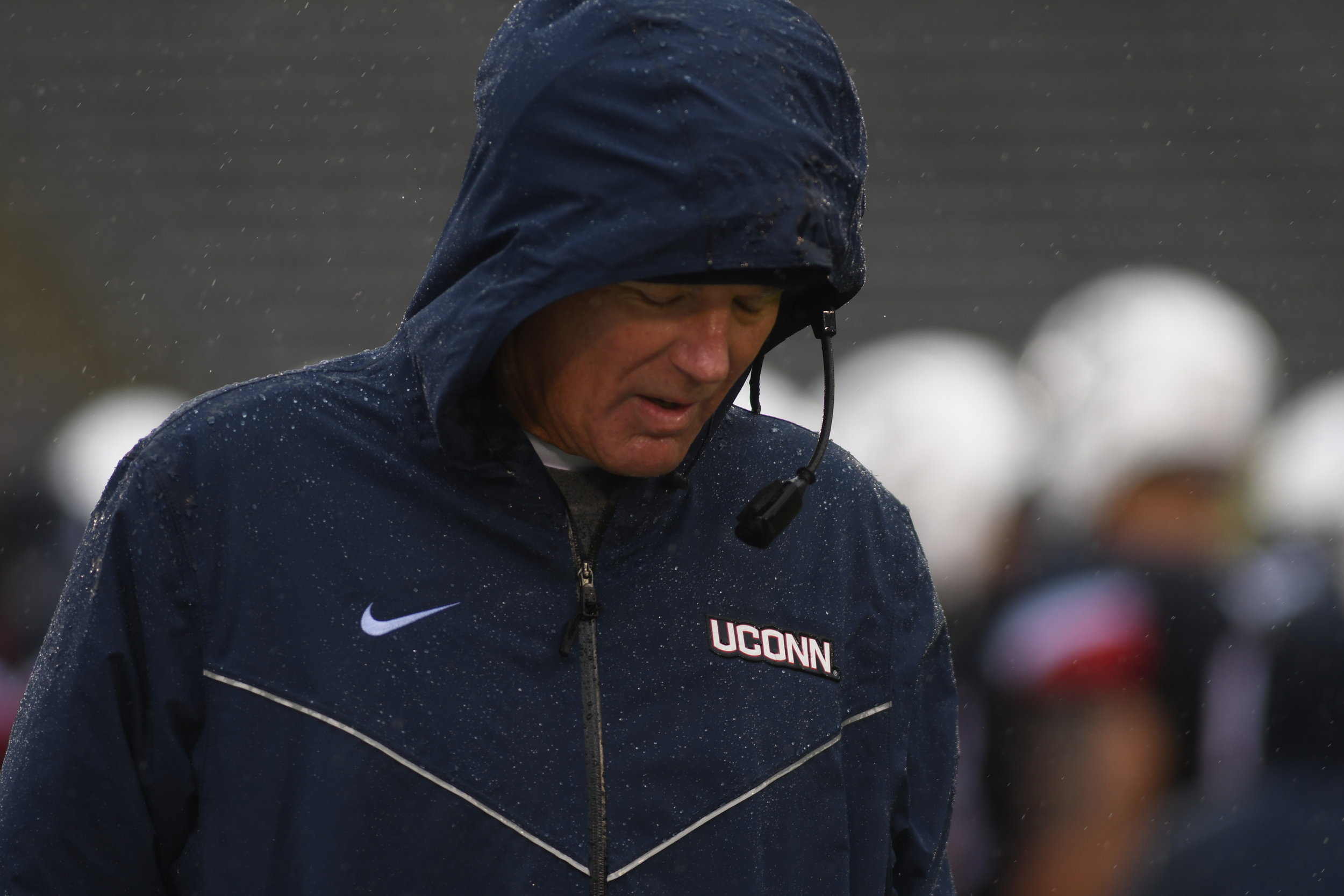 UConn finished their second season of head coach Randy Edsall's second stint at UConn with a 1-11 record. (Charlotte Lao/ The Daily Campus)