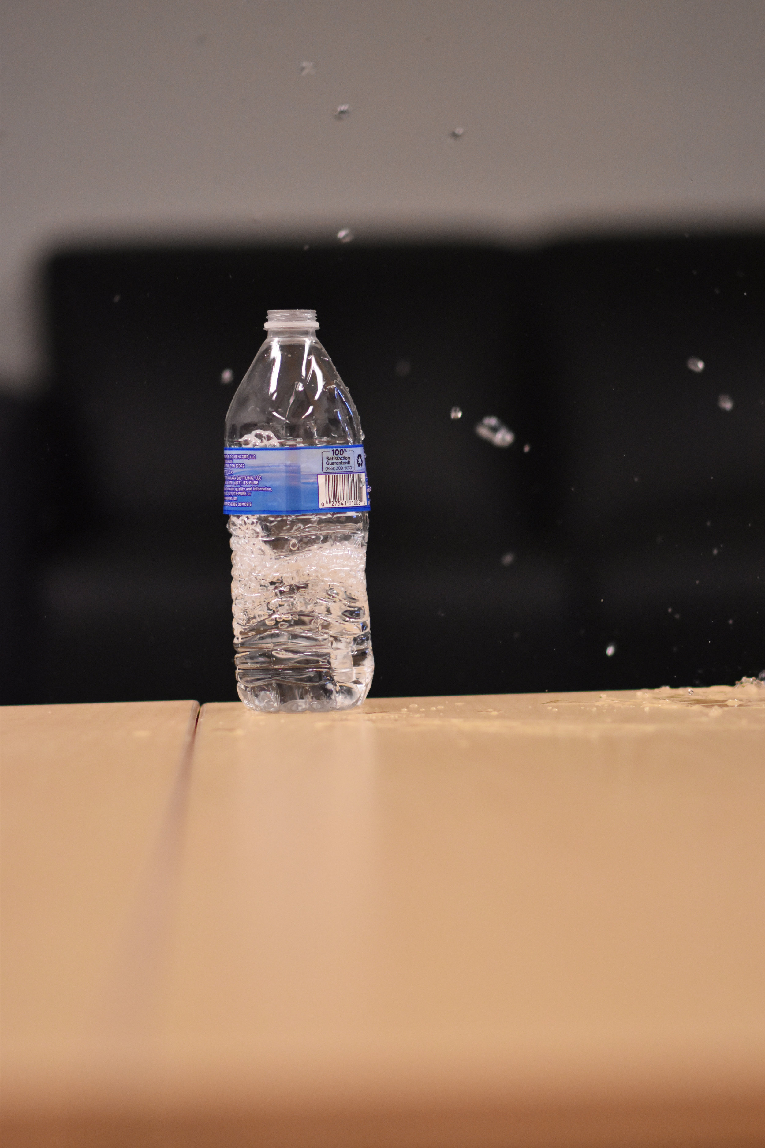 """""""Take Back the Tap"""" is an initiative that you may have already heard about on campus. It is a movement designed to prevent students from using plastic water bottles at UConn, with the ultimate goal of banning plastic water bottles on campus altogether. (Kevin Lindstrom/The Daily Campus)"""