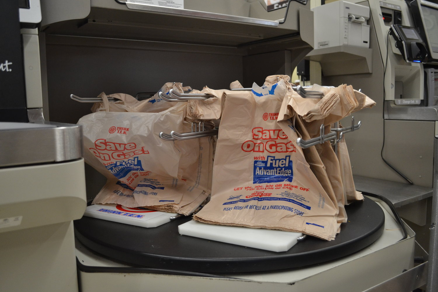 In-store plastic bags may become a thing of the past. (File photo/The Daily Campus)