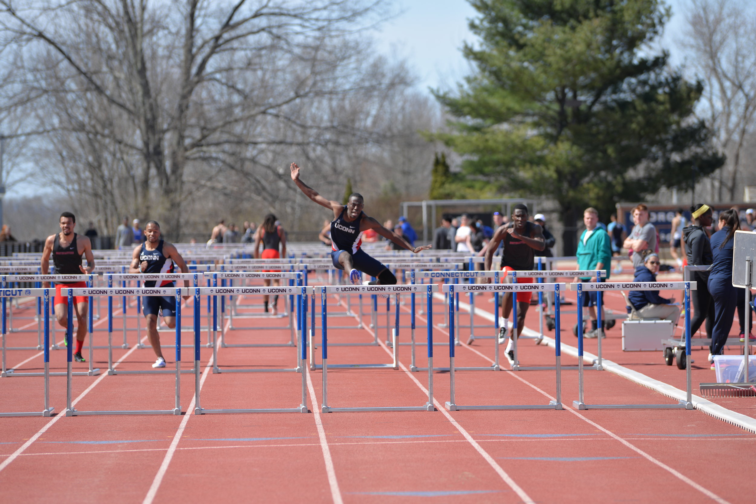 UConn Men's Track and Field. (Photo by Amar Batra/The Daily Campus)