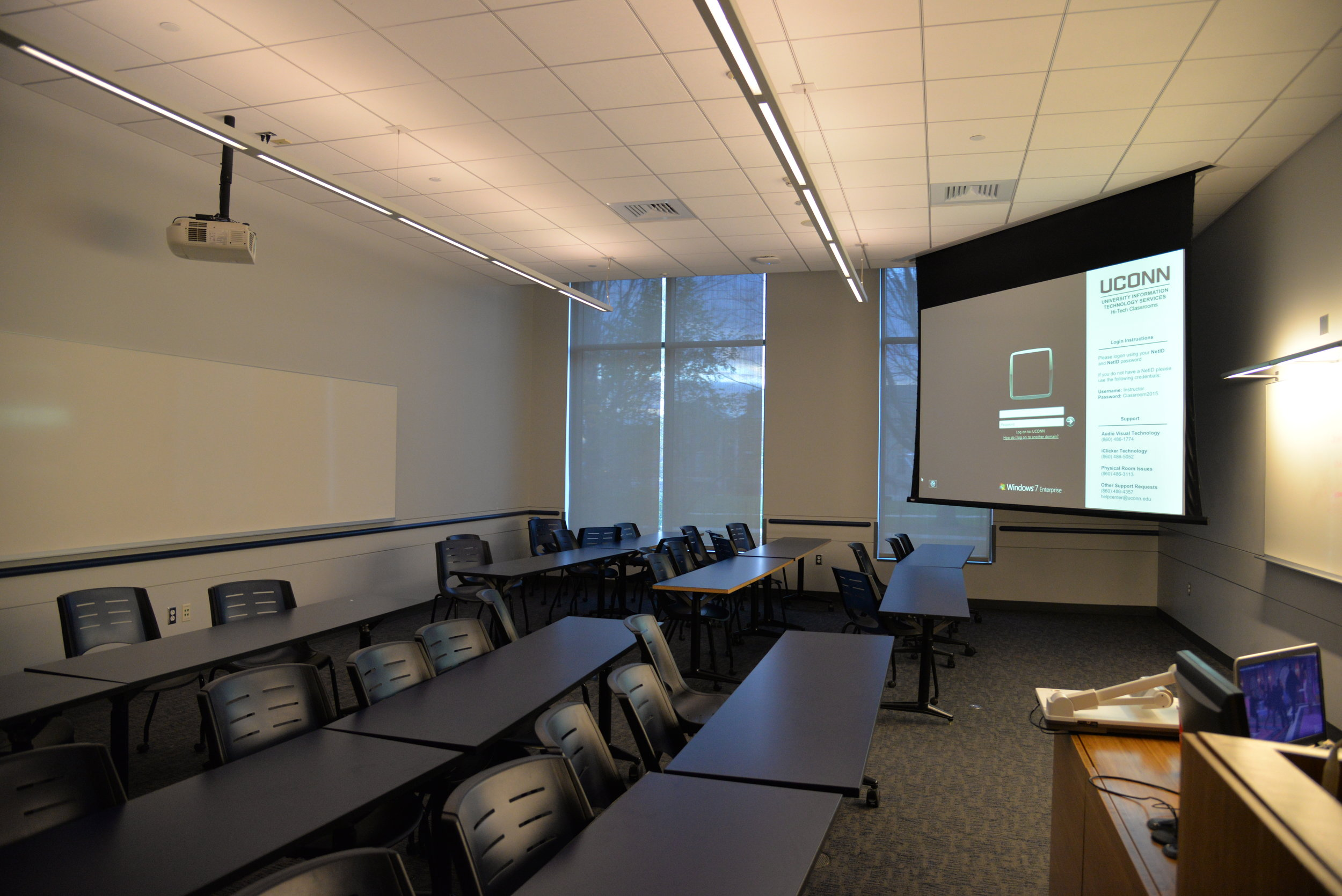 UConn lecture hall. (File Photo/The Daily Campus)