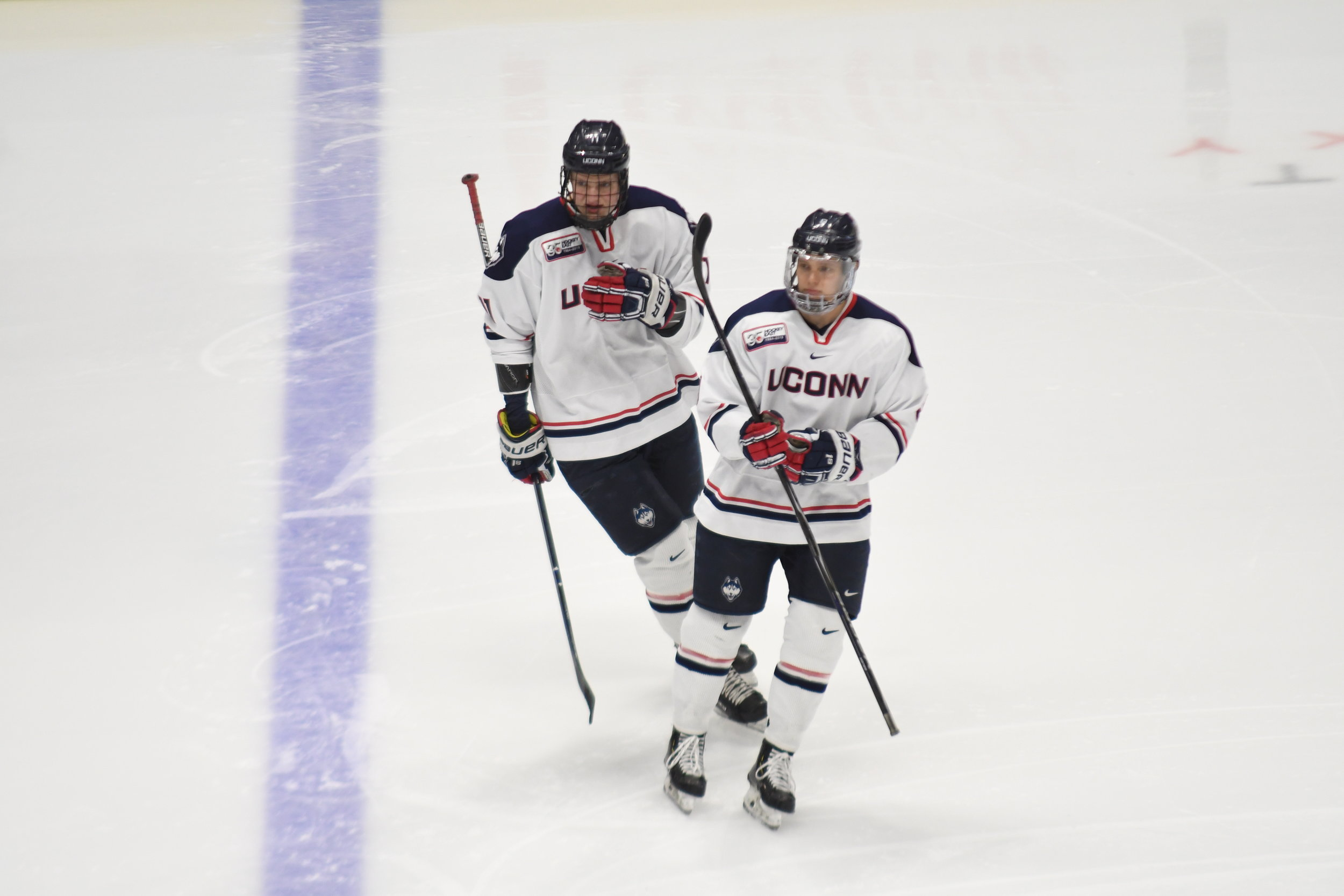 The Huskies lost 3-4 against the BC Eagles after a making a comeback from 1-4 in the 3rd period. Their next home game at the XL center is on 2/7 against Northeastern. (File Photo/The Daily Campus)