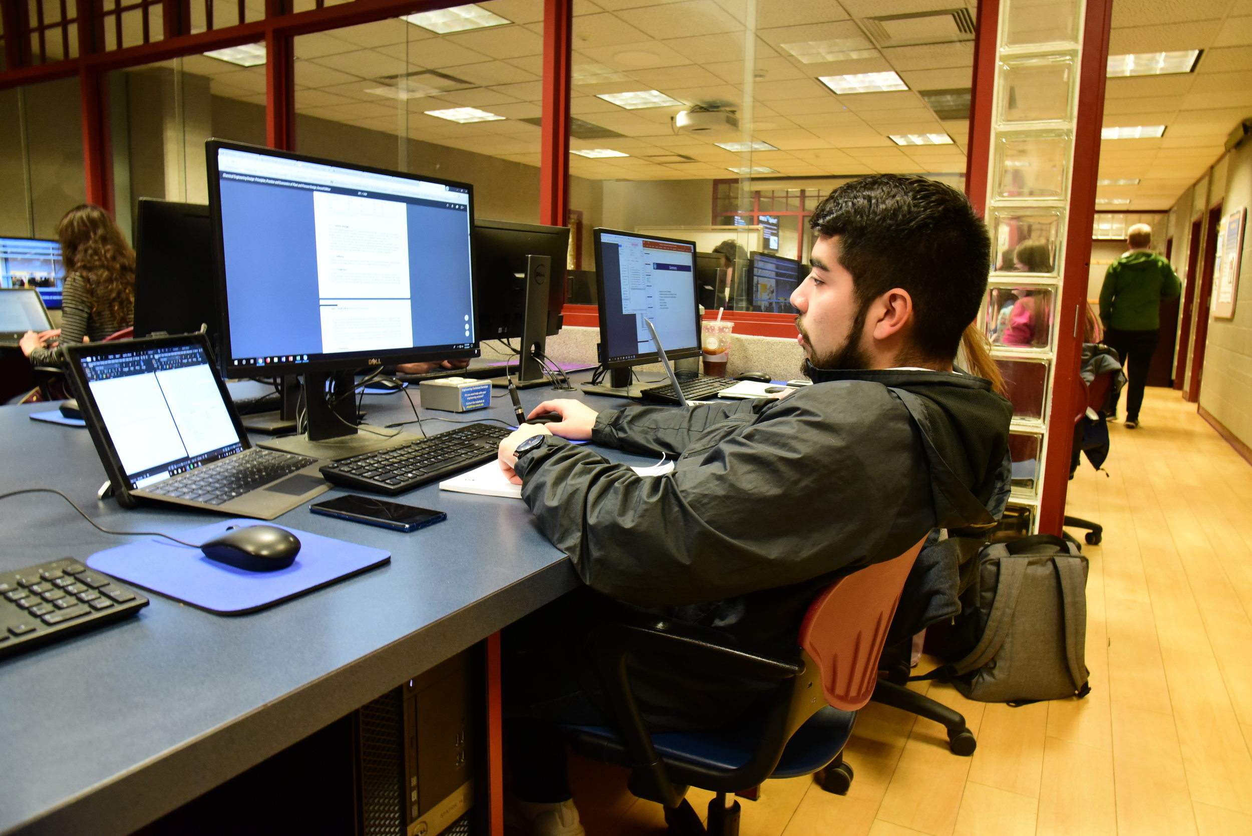Even with UConn's resources accessing quality research can be difficult. (Photo by Kush Kumar/The Daily Campus)