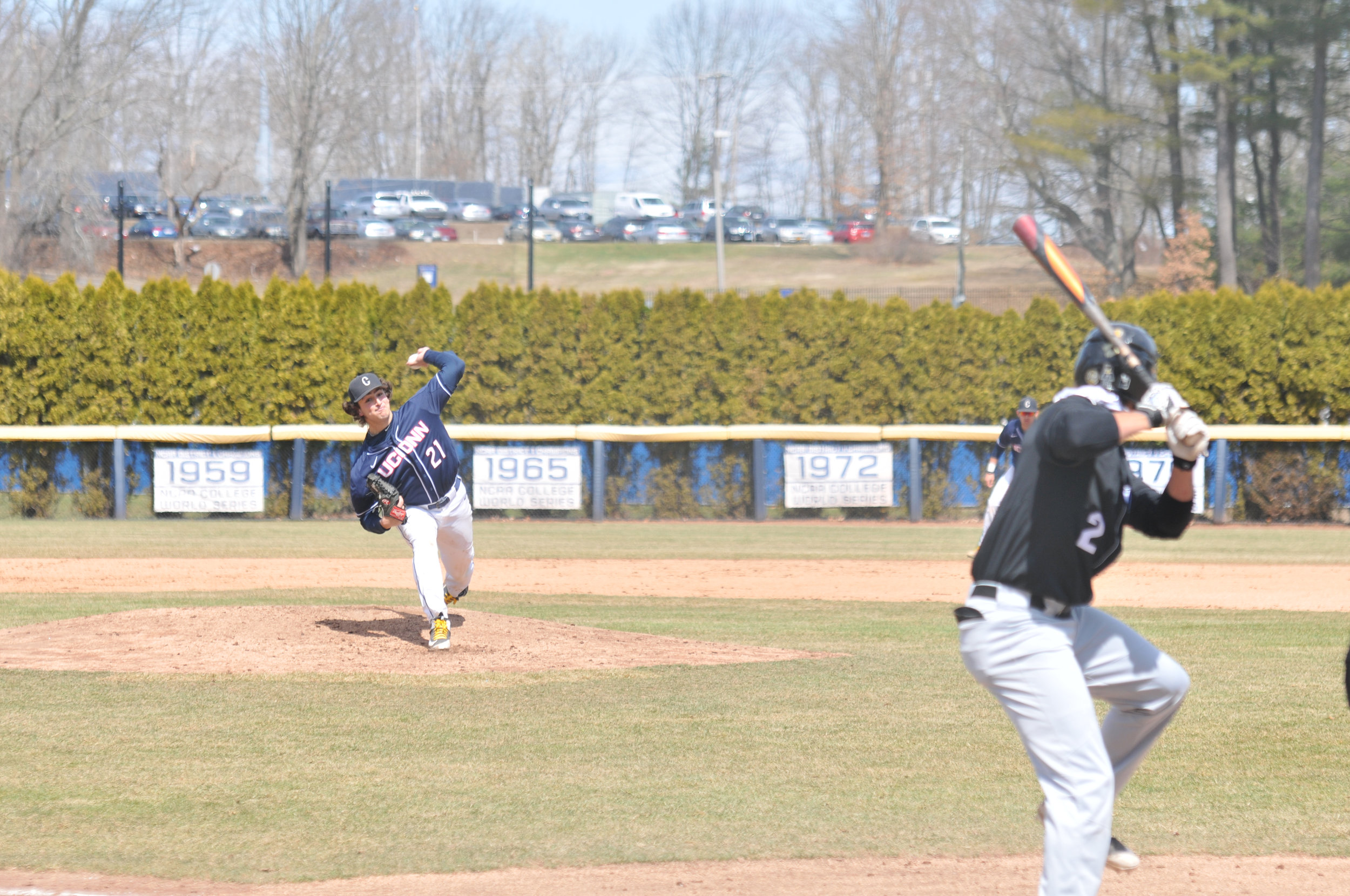Mason Feole will be a force to be reckoned with on the mound this year. (File photo/The Daily Campus)
