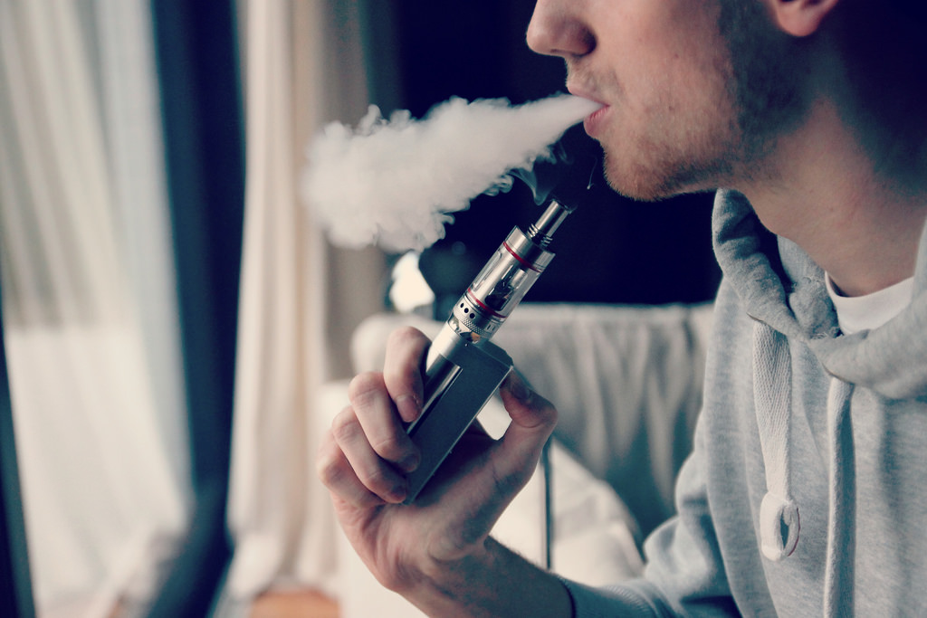 """Newly-elected Gov. Ned Lamont made both fiscal and social issues a priority for his administration, choosing to raise Connecticut's legal vaping age and proposing a """"Sin Tax"""" on vaping products. (vaping360/Flickr Creative Commons)"""