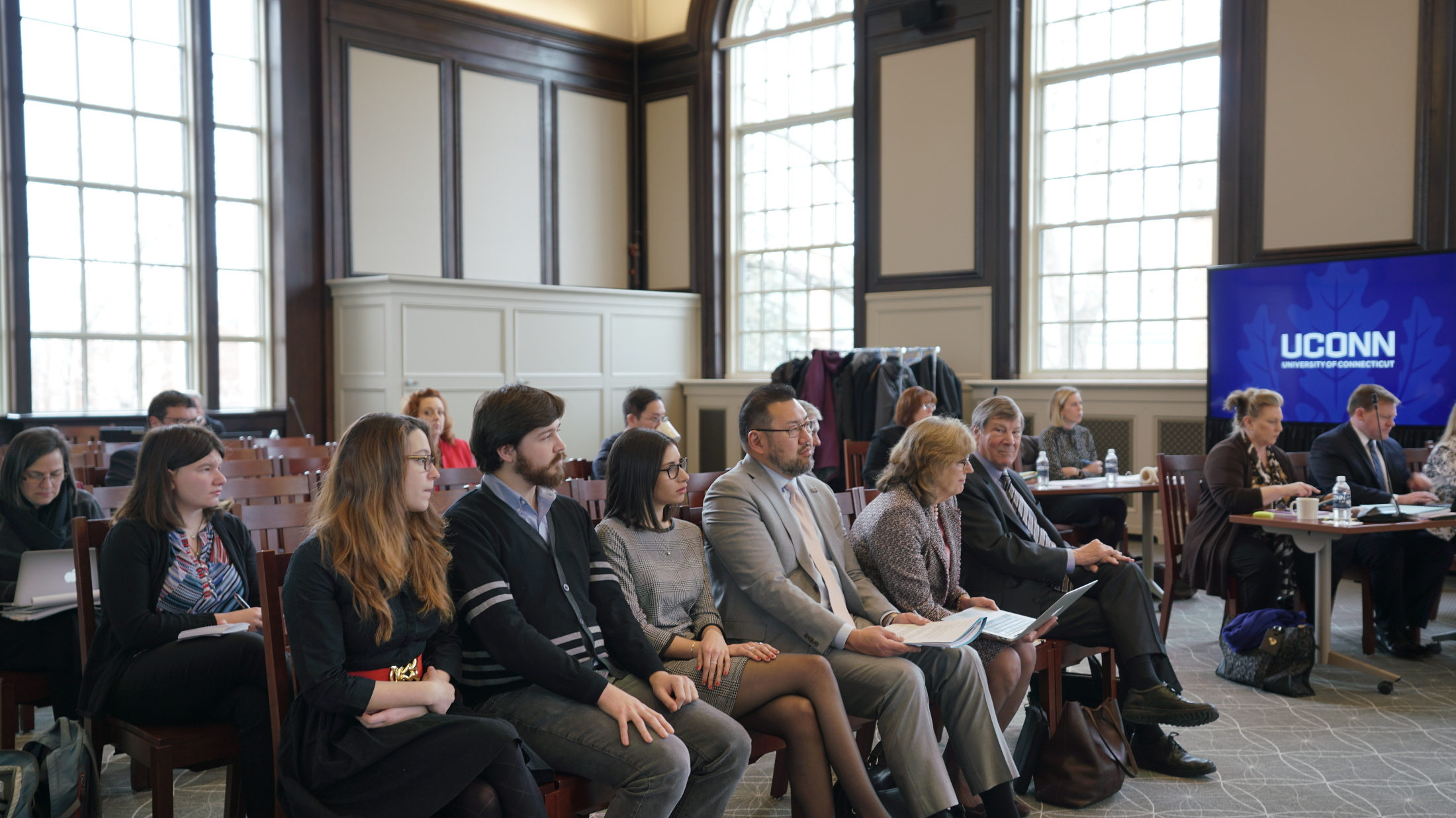The Board of Trustees meeting from February 27th (Coco Ma/The Daily Campus)