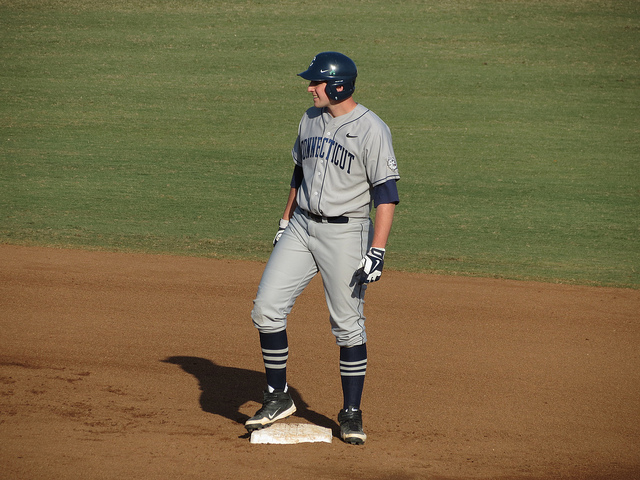 After a successful career at UConn, Melley was drafted by the Tampa Bay Rays. Photo courtesy of Flickr/Creative Commons
