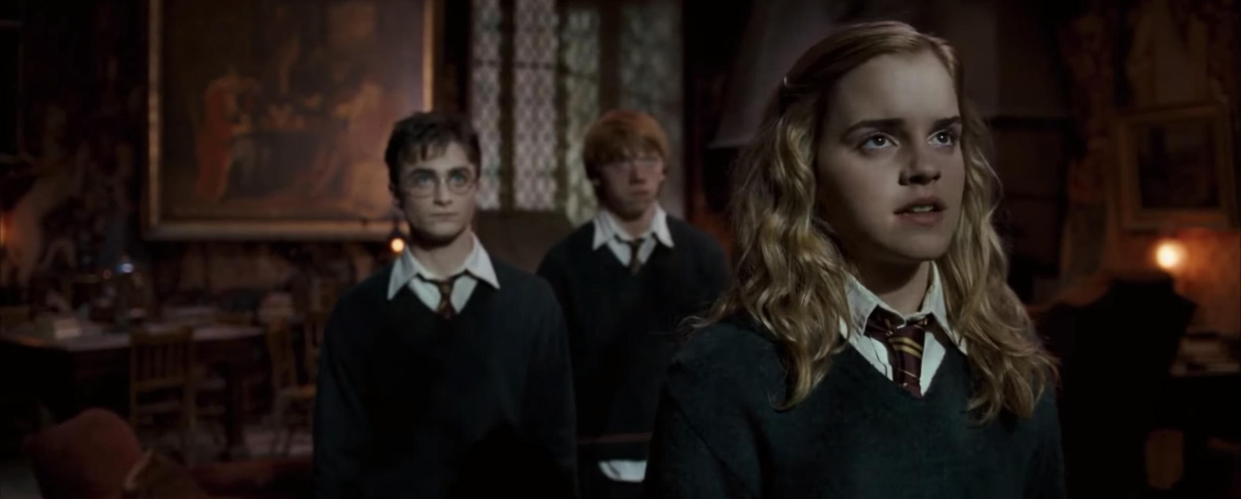 Strong female characters like Hermione Granger can help you celebrate International Women's Day. (Screenshot via YouTube)