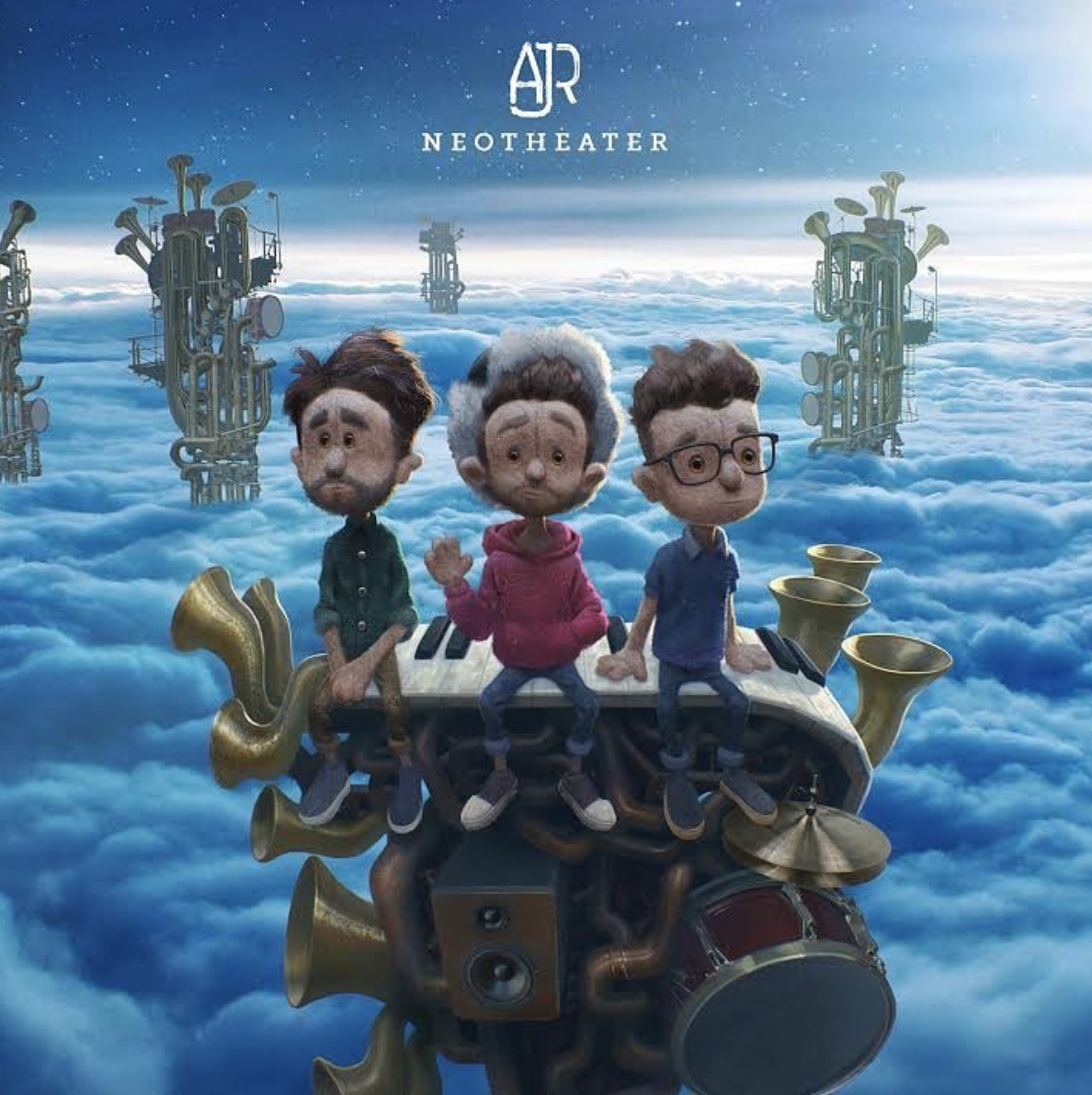 """AJR celebrated their upcoming album with their new single """"Birthday Party"""". (@ajrbrothers/Instagram screenshot)"""