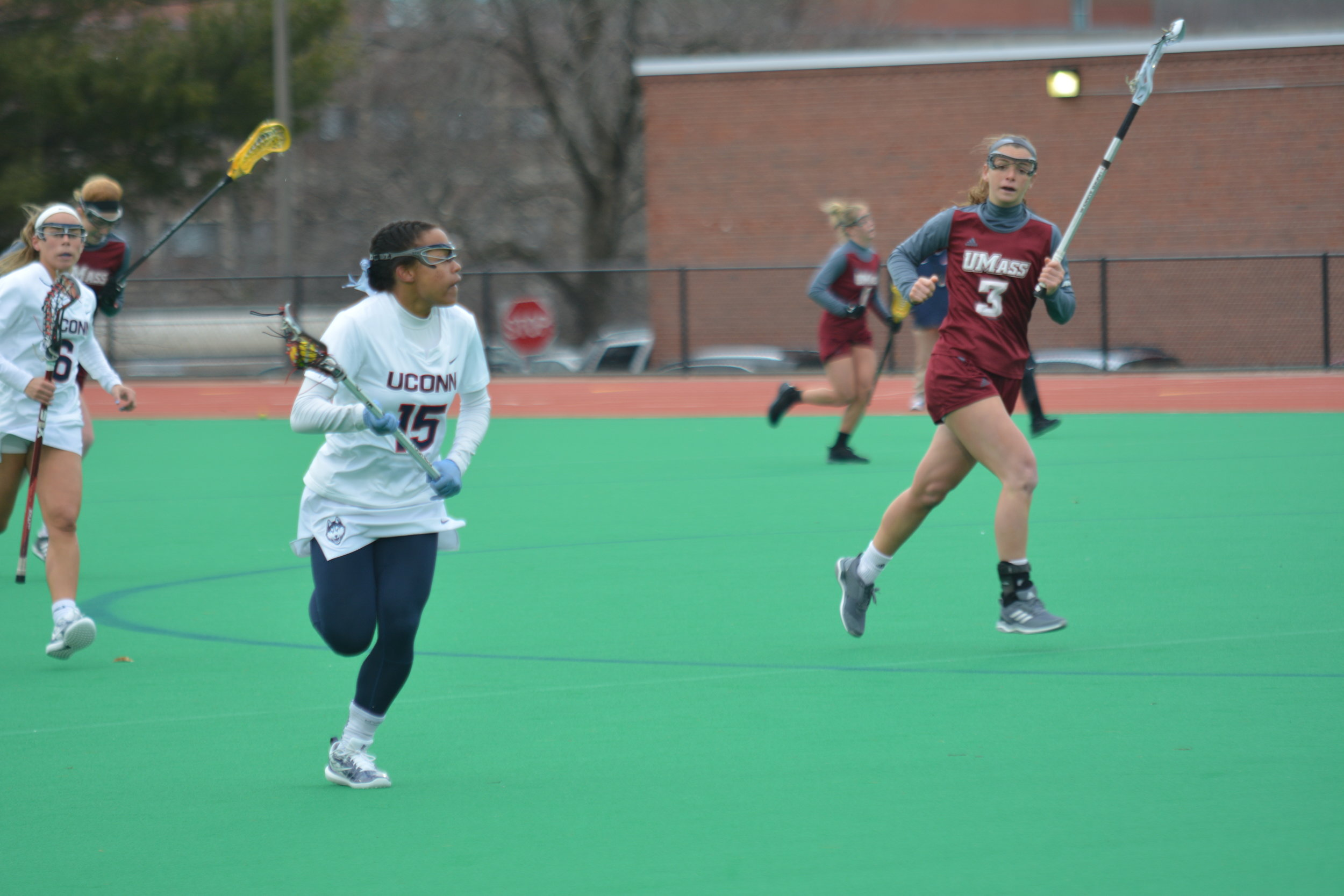 The UConn women's lacrosse team has dropped three straight after a weekend loss to Delaware. (File photo/The Daily Campus)