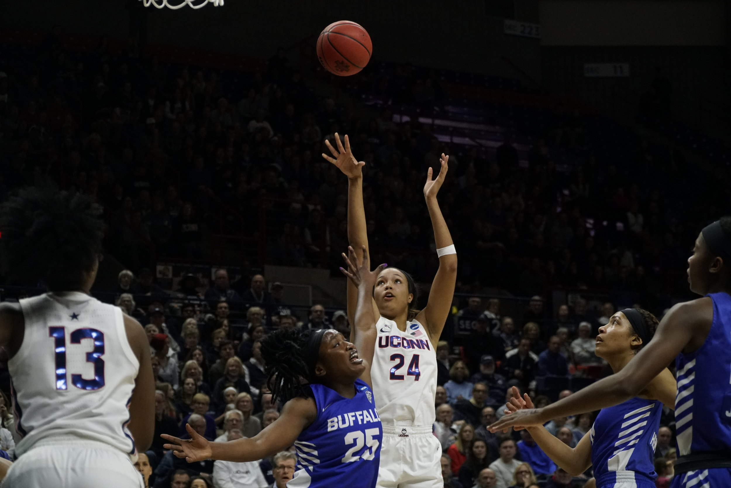 UConn Women's Basketball. (Photo By Eric Wang/The Daily Campus)