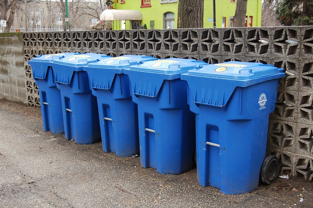 Before someone drops off their recyclable items, food should be washed out of them, if permissible, McKee said. Food and liquids can ruin recyclables like paper and cardboard. ( Dano/Flickr Creative Commons )