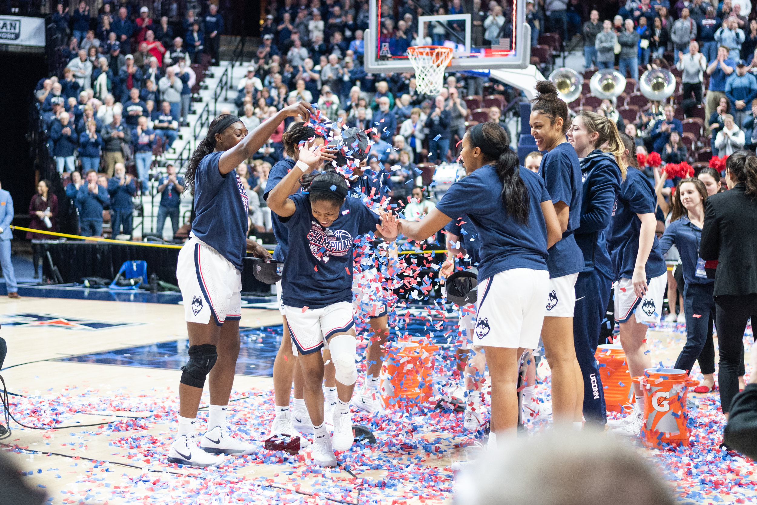 The dynasty that is UConn Women's Basketball serves to inspire many, especially other women and young girls (Photo by Charlotte Lao/The Daily Campus)