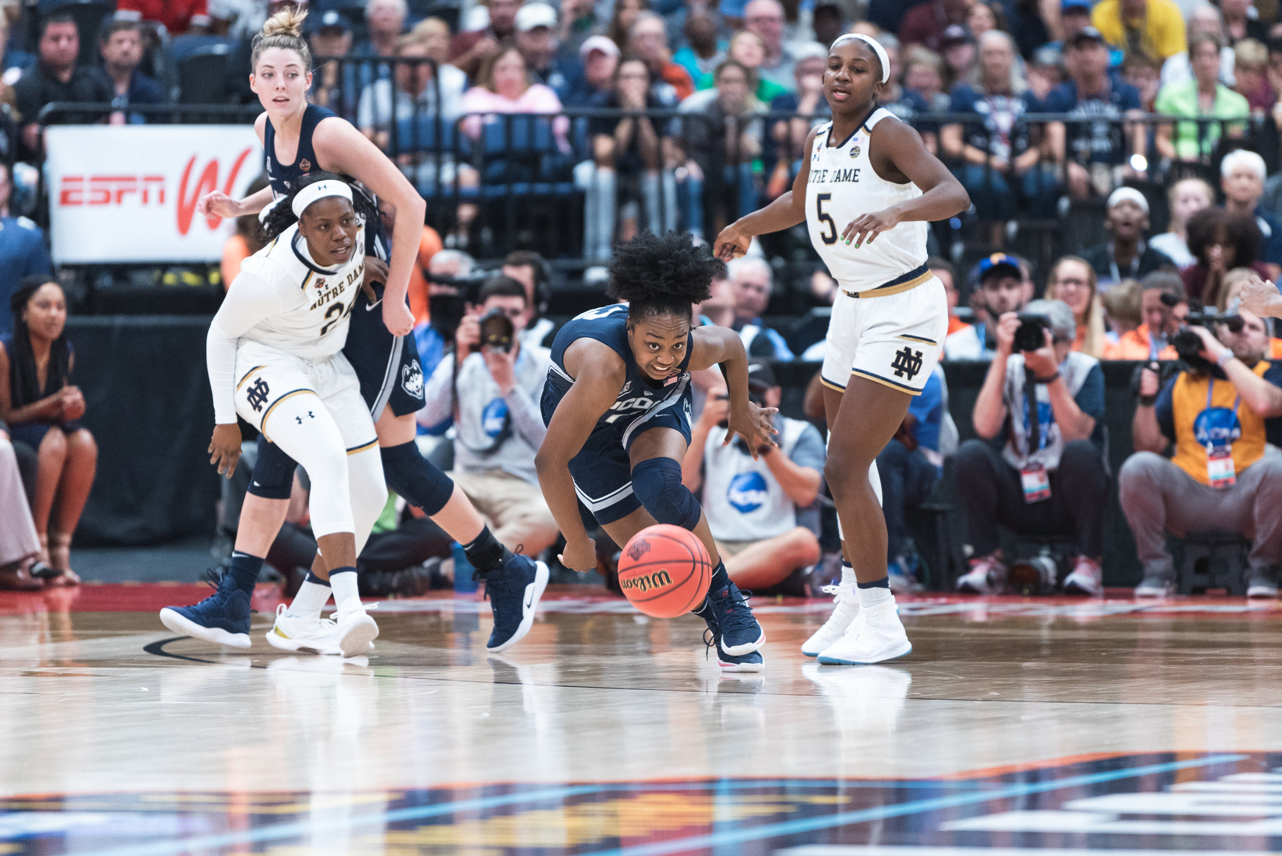 UConn Women's Basketball. (Photo by charlotte lao/The Daily Campus)