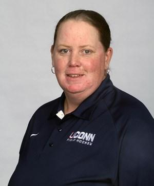 Cherri Schulz has been a coach with UConn Field Hockey for 18 years.  (Image via UConn Athletics)