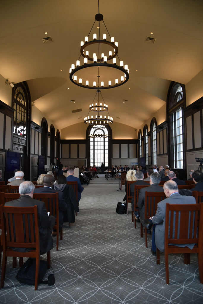 Board of Trustees meets at Wilbur Cross Reading Room on Wednesday morning and approves programs like an American Sign Language Major. (Charlotte Lao/The Daily Campus)