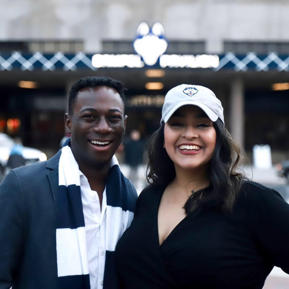 The University of Connecticut Undergraduate Student Government (USG) will be led next year by incoming president Priyanka Thakkar and incoming vice president Manny Chinyumba. (Photo supplied via writer)