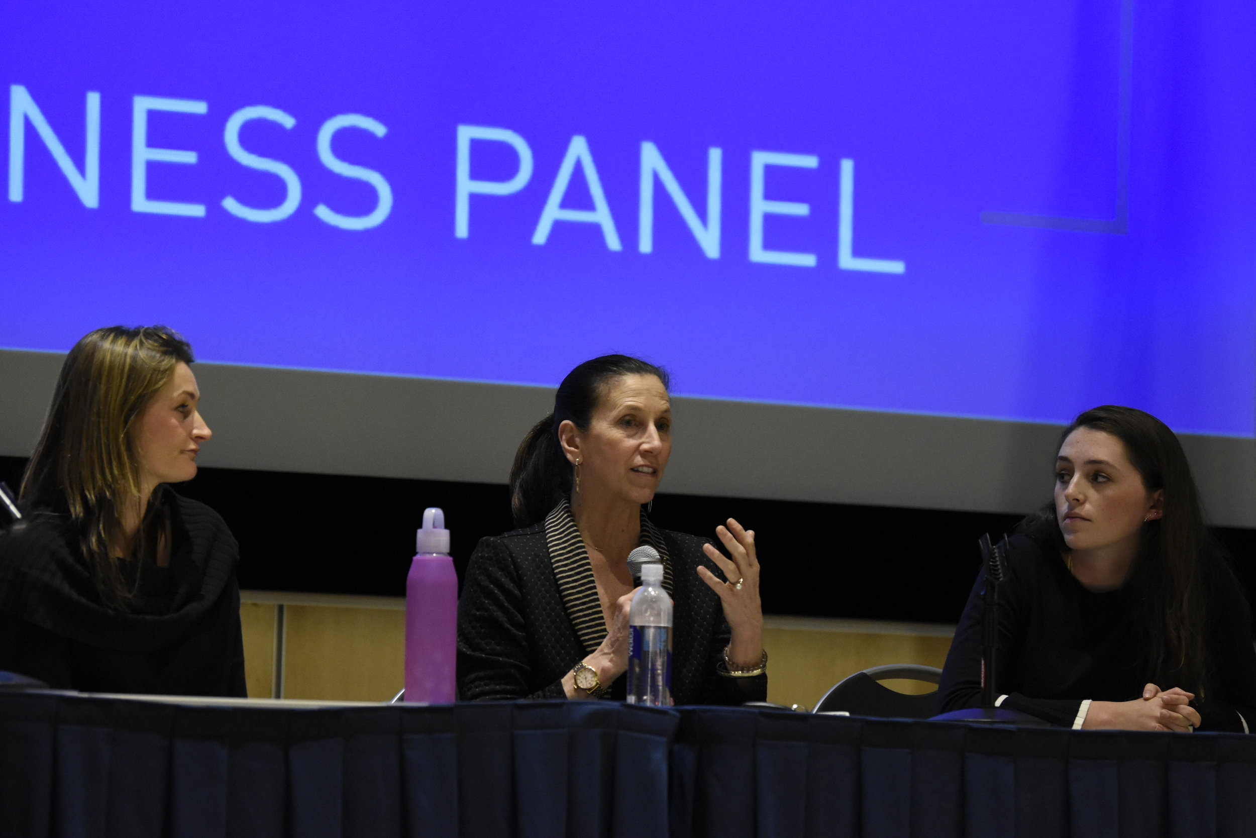 "USG hosts ""Come As You Are,"" a panel about body image awareness. Panelists discussed the issues surrounding body standards and the dangers of dieting. (Brandon Barzola/The Daily Campus)"