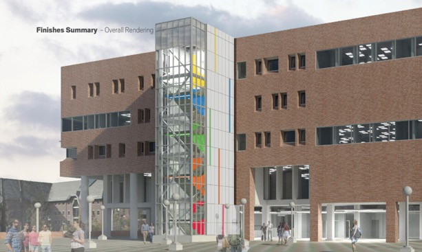 Rendering from the UConn Library