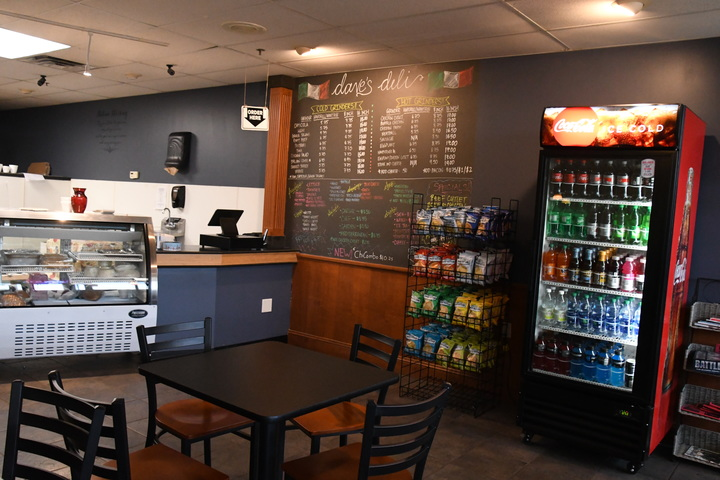 Dave's Deli is the newest addition to one of the plazas in Storrs center. This Italian deli is the perfect destination for all grinder and sandwich needs. (Julie Spillane/The Daily Campus)
