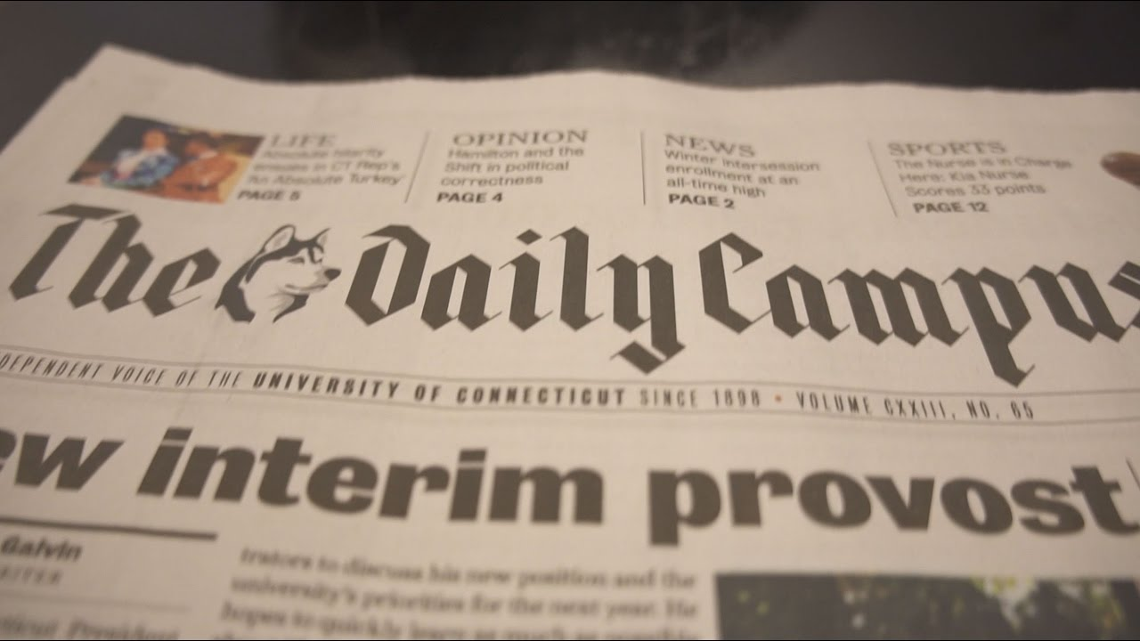 The Daily Campus newspaper.