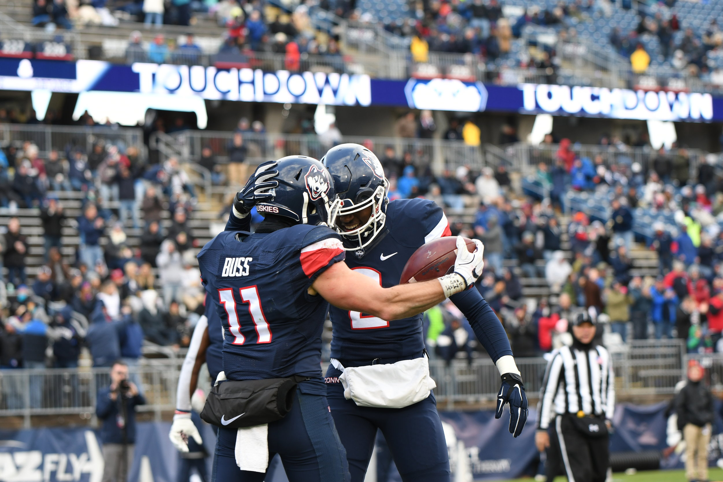 Between fixing the worst defense in college football, deciding on a starting quarterback and finding playmakers to put on the field, head coach Randy Edsall has his hands full. (Charlotte Lao/The Daily Campus)
