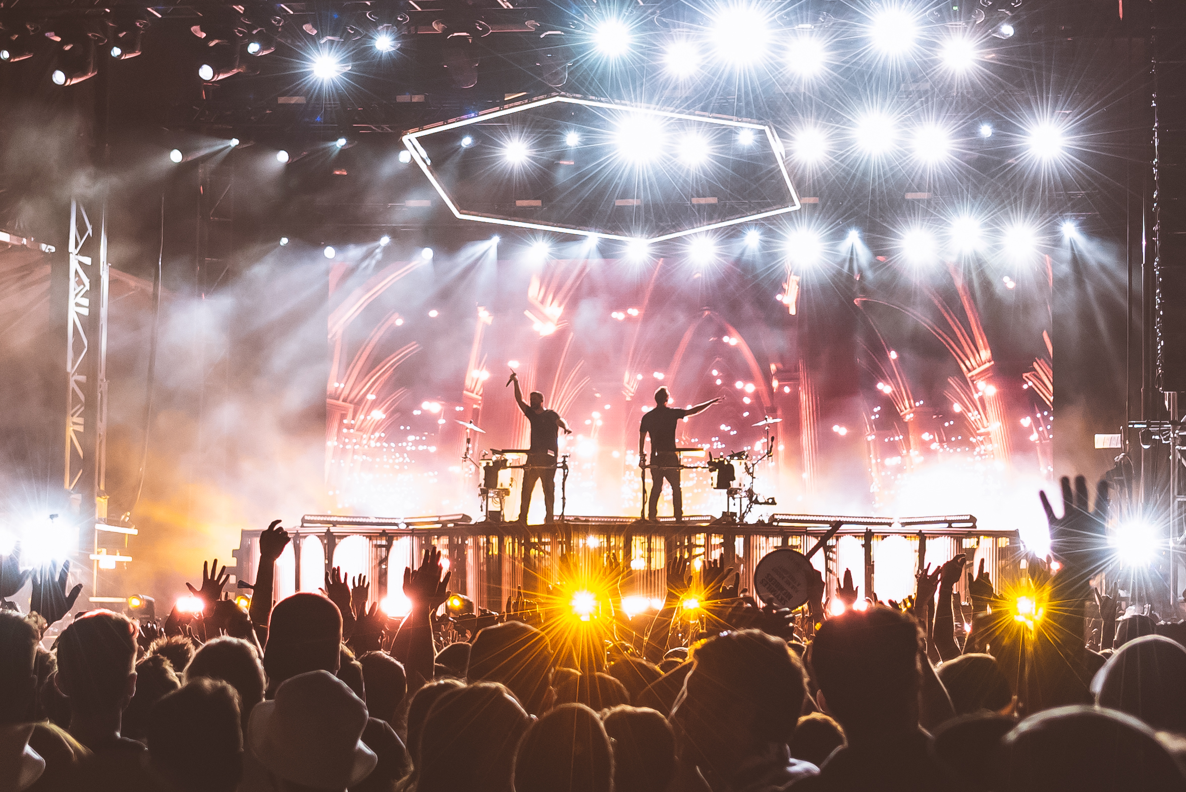 Electronic dance group ODESZA hypnotized the writer and the audience with their set that enthralled the crowd for over an hour.