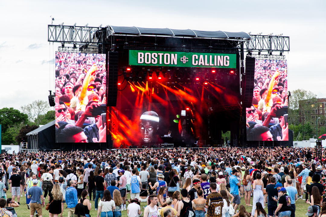 This year's Boston Calling was a full on experience of the senses with fun attractions for all interests. (Image Courtesy Boston Calling)