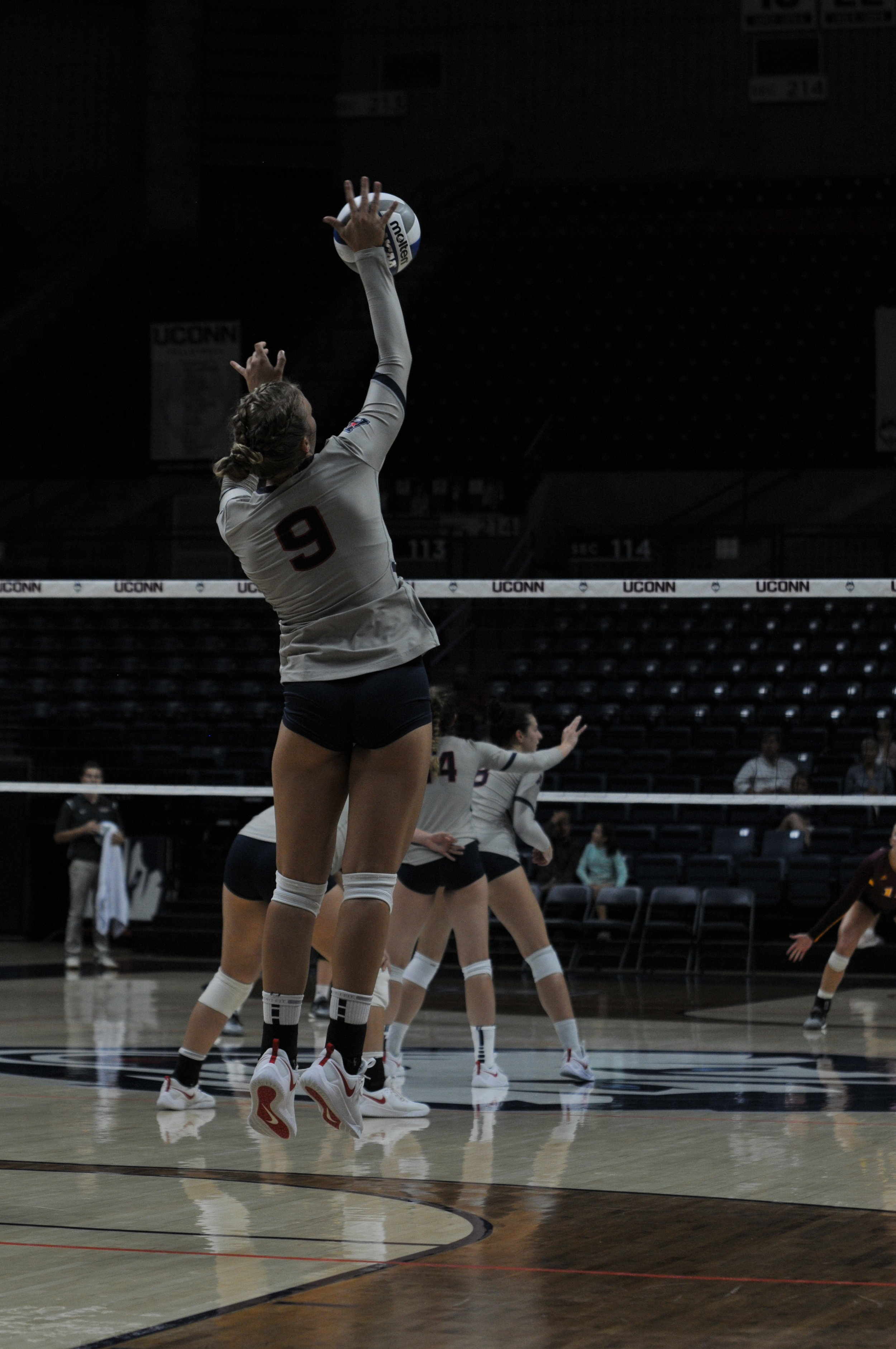 UConn's volleyball team has undergone some massive changes over the past few months.  Photo by Judah Shingleton / The Daily Campus.