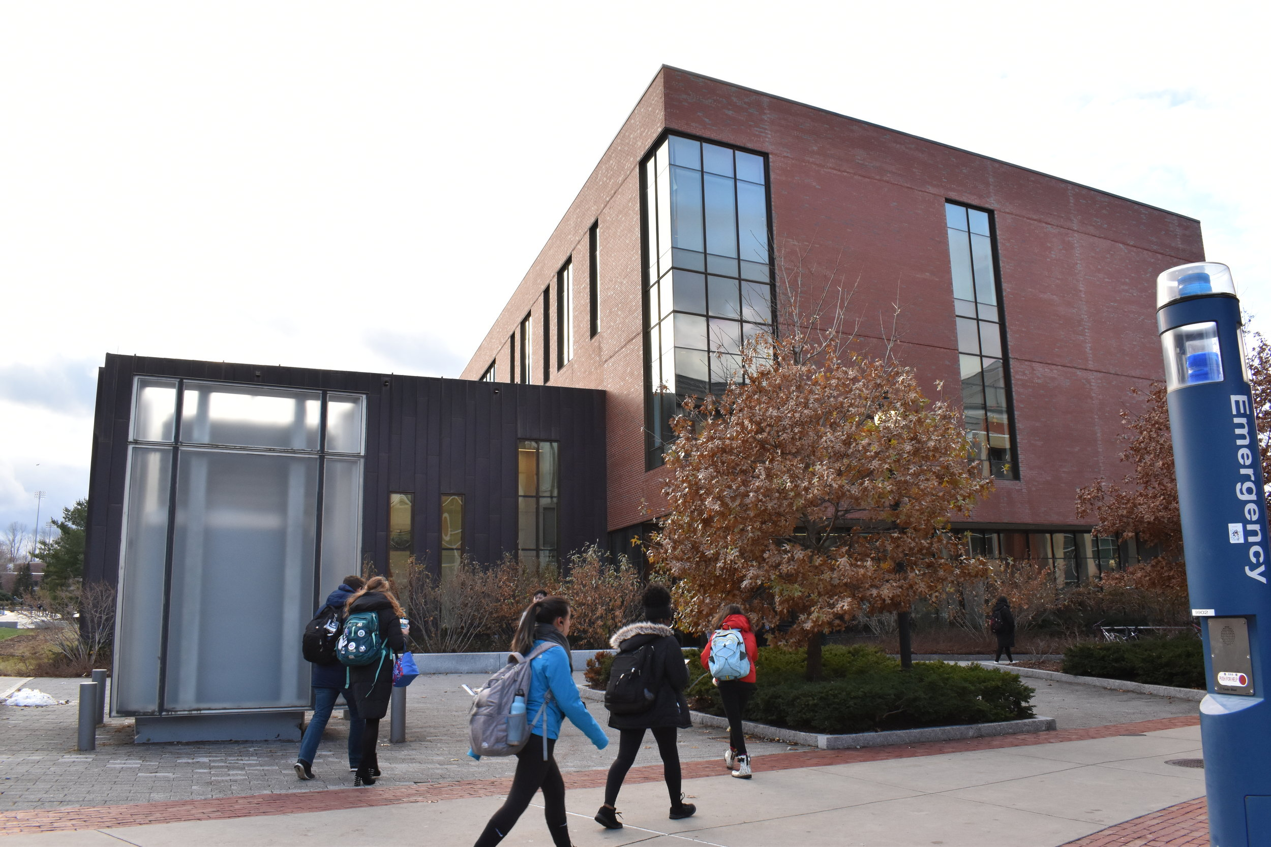 """McHugh Hall, which was previously called """"Laurel Hall"""" prior to last year. It is one of many buildings on campus referred to by more than one name.  Photo by Brandon Barzola / The Daily Campus"""