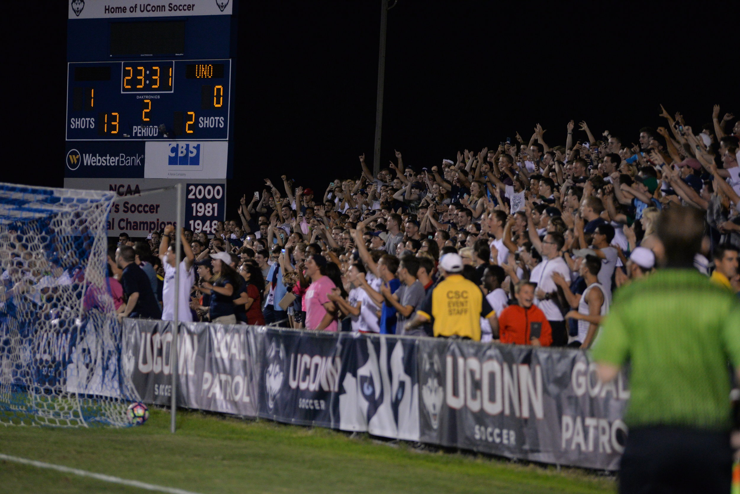 Are you ready for the student section? Here's the freshman guide to UConn sports.  File Photo / The Daily Campus