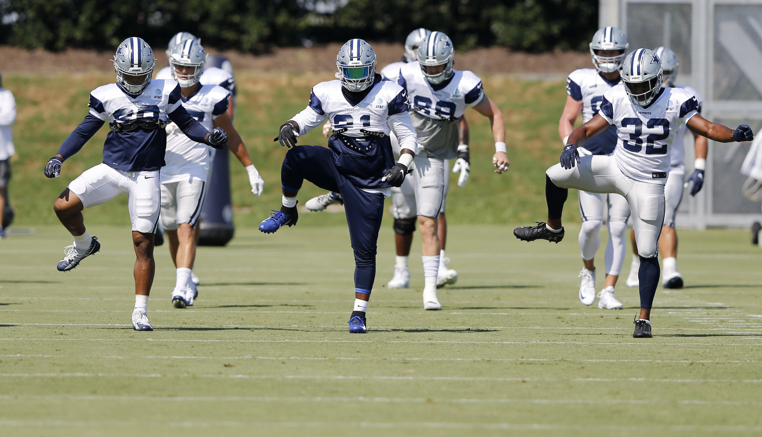 The Cowboys defense, headlined by Jaylon Smith's 5-year extension, looks poised for a strong season.  Photo from The Associated Press