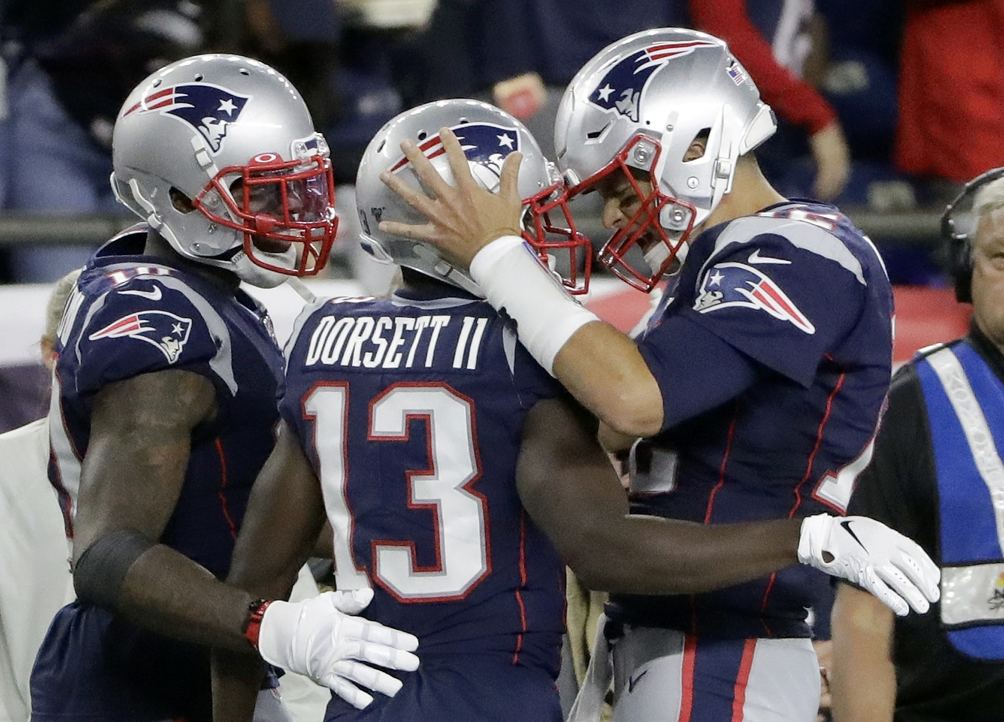 The Patriots looked strong once again to start the season in their blowout victory against the Pittsburgh Steelers.  Photo by The Associated Press.