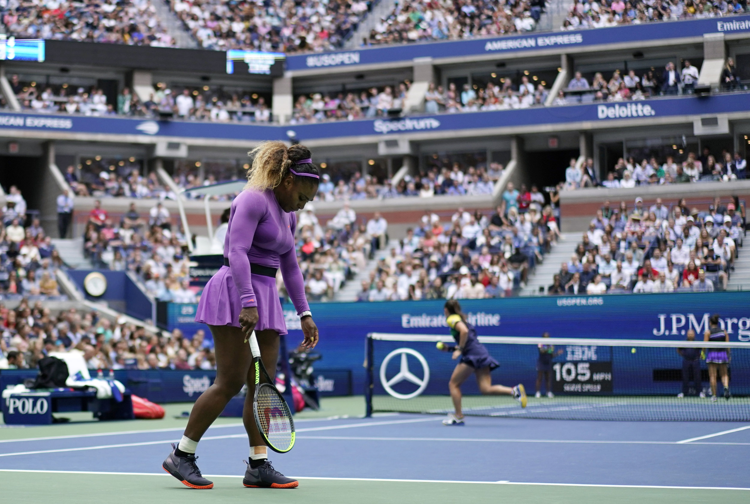 Williams has struggled to capture that coveted 24th Grand Slam title over the past couple years, reaching the finals but never making the final push to victory.  Photo by The Associated Press.
