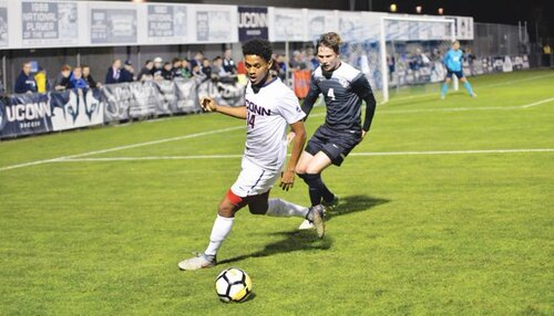 UConn men's soccer team experienced their first lost in 27 years to Yale Bulldogs.  File Photo / The Daily Campus.