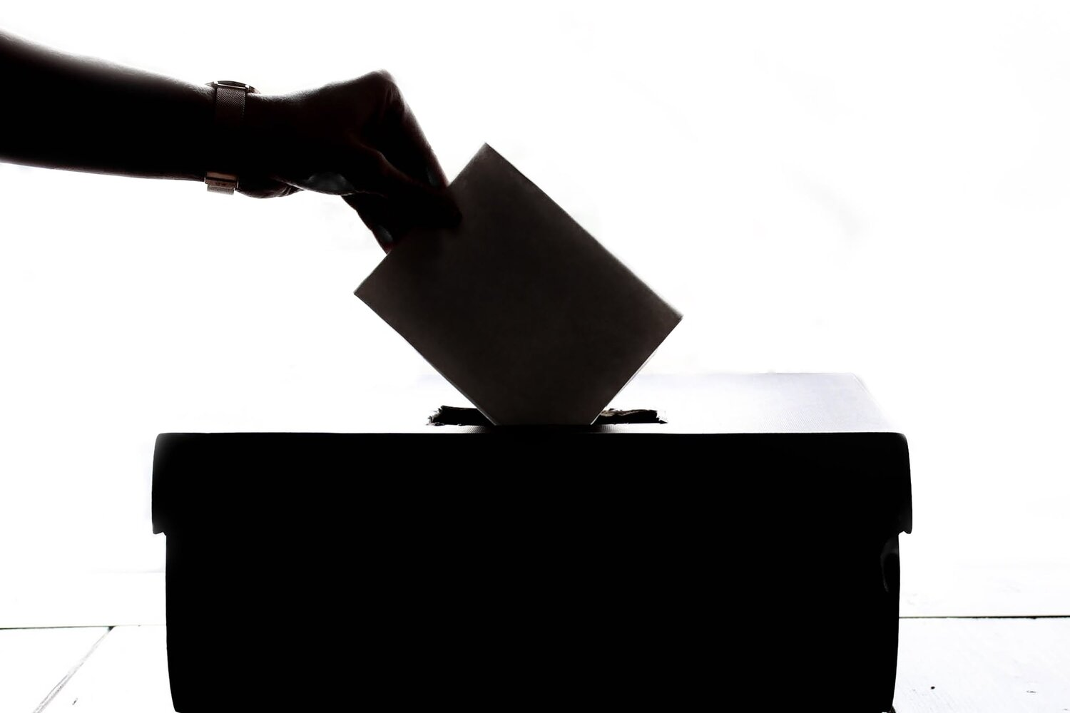While paper ballots are flawed, they remain the more secure alternative to electronic voting.  Photo by Element5 Digital /  Pexels