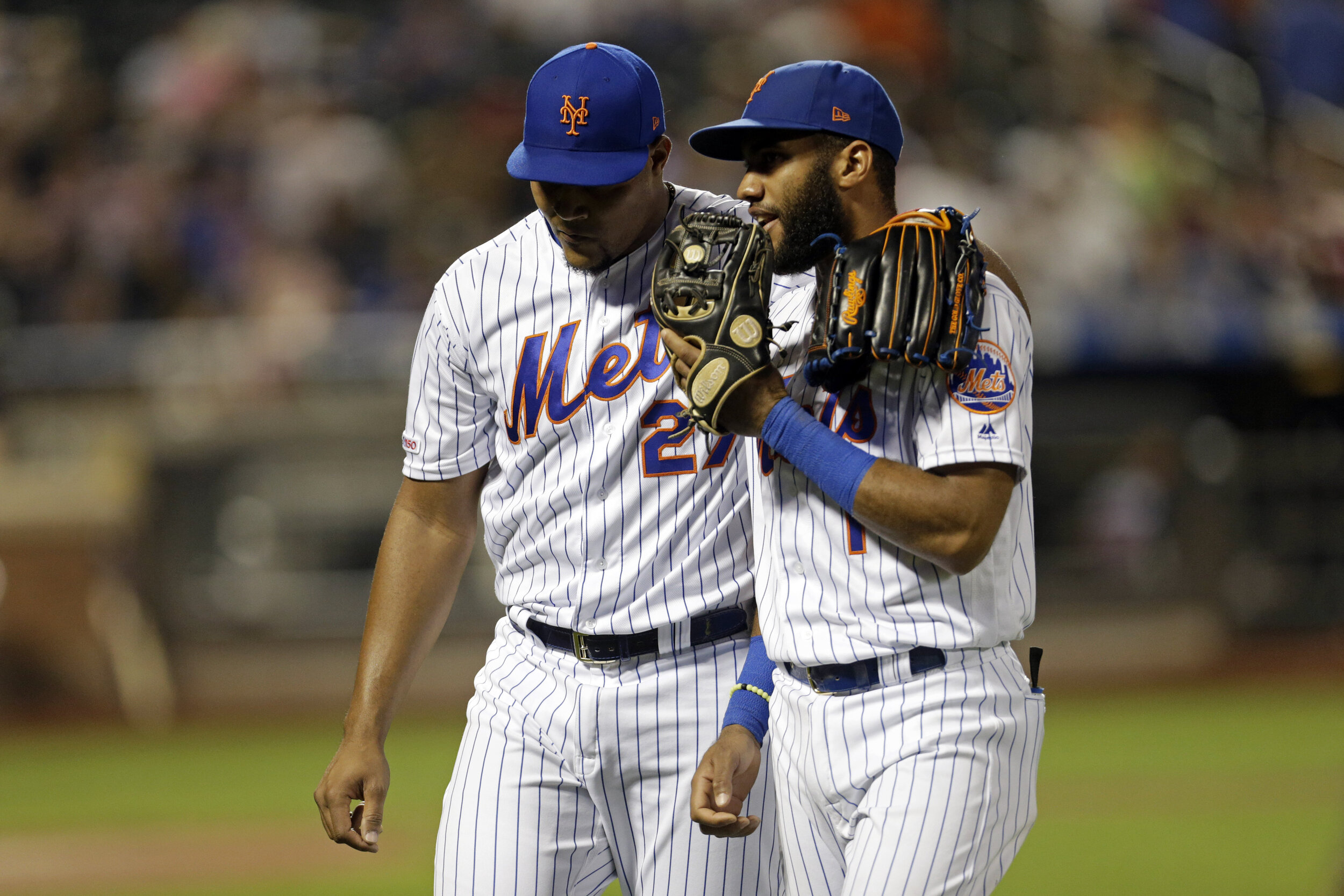 This Mets squad has loads of potential heading into next season. They want to find a manager that can get the most out of that potential the fastest.  Photo from The Associated Press.