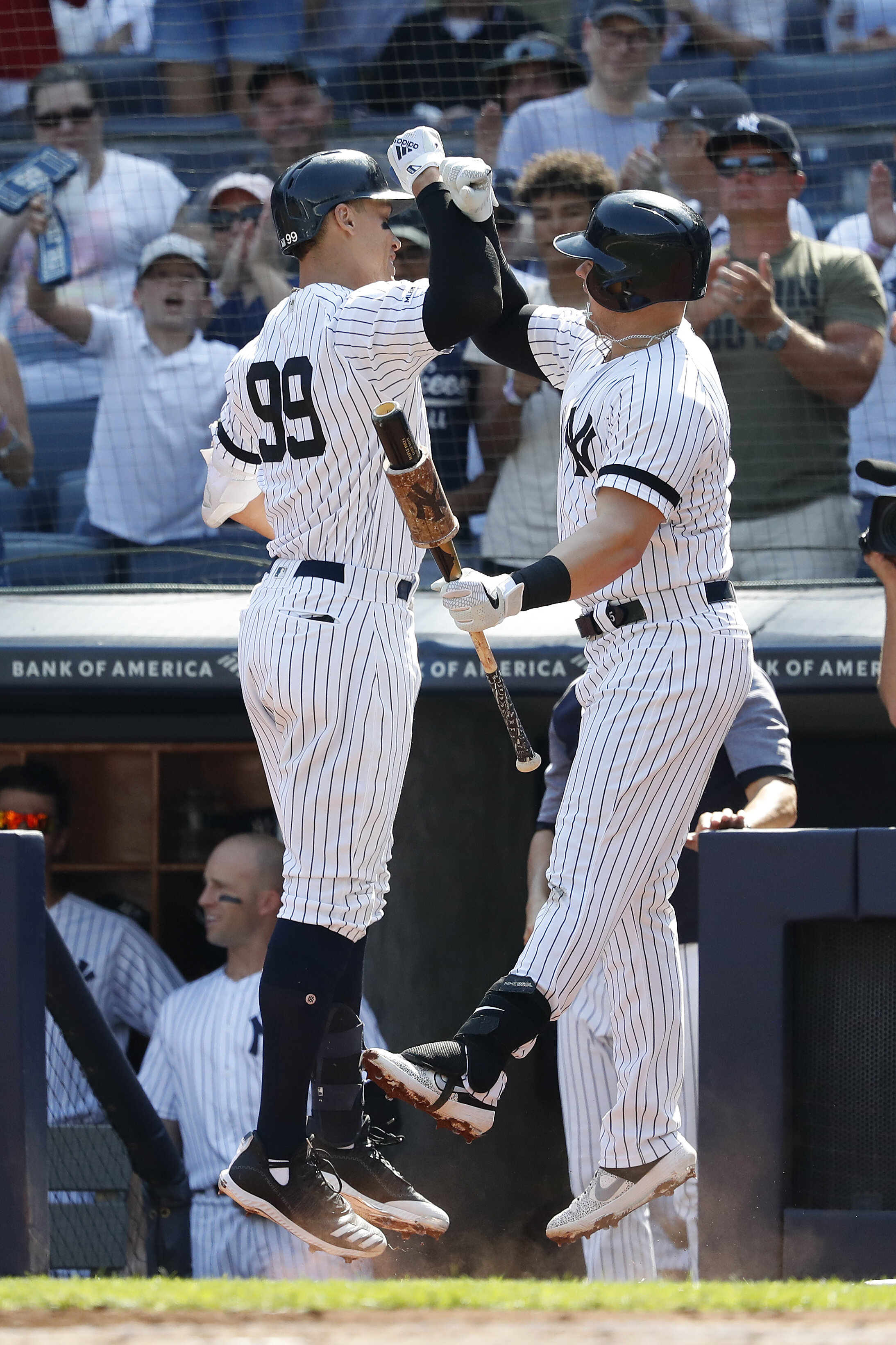 The Yankees have been great for the past few regular seasons but struggled to make any headway come playoffs. Fans are hoping that the Yanks can turn the corner and make their way to the World Series this season.  Photo from The Associated Press.