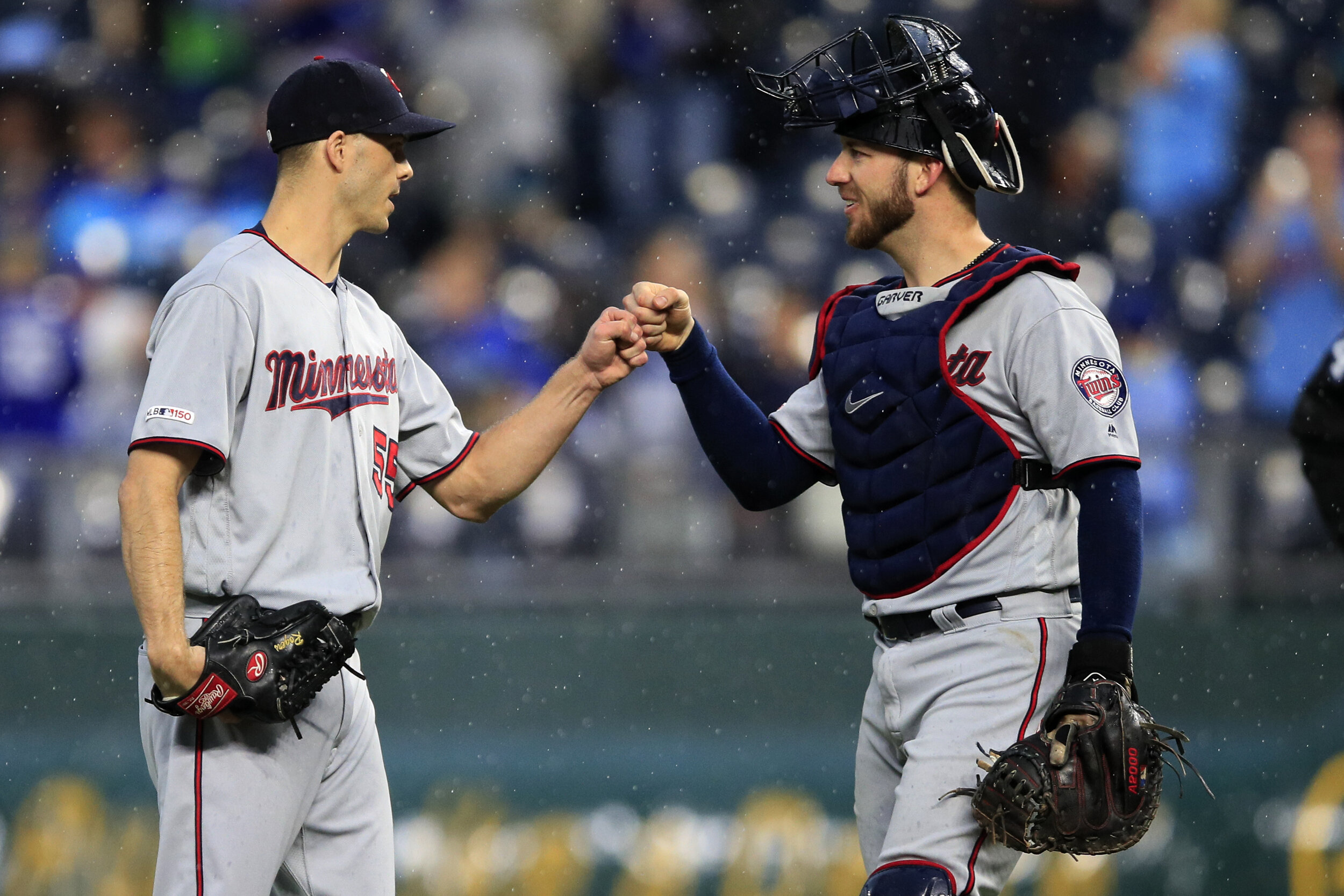 The Twins were a tough draw for the Yankees in the ALDS. They have strong pitching and a solid rotation but when the Yanks are on top of their game no team can keep up with them.  Photo from The Associated Press.